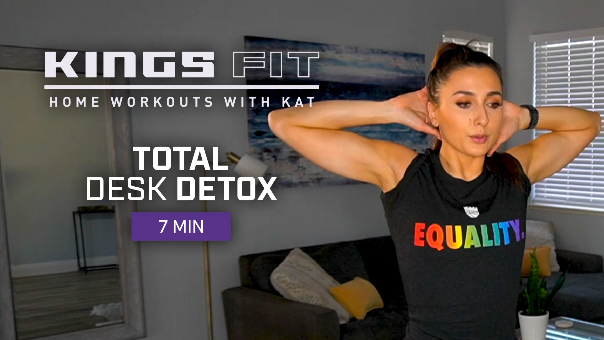 Kings Fit | Total Desk Detox with Kat