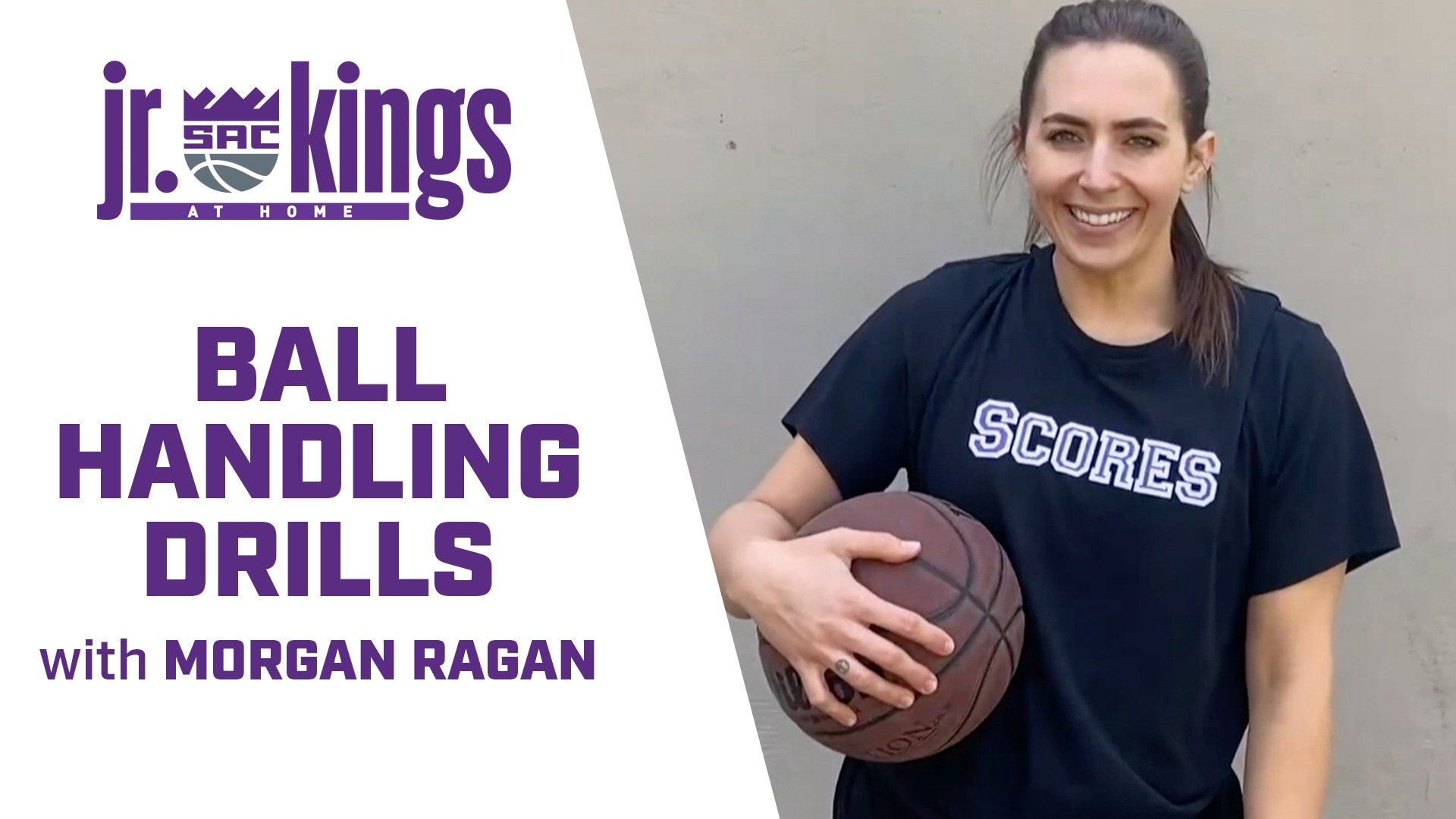 Jr. Kings at Home | Ball Handling Drills with Morgan Ragan