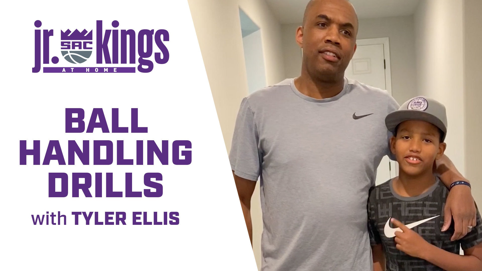 Jr. Kings at Home | Work on Your Ball Handling Skills with Tyler Ellis