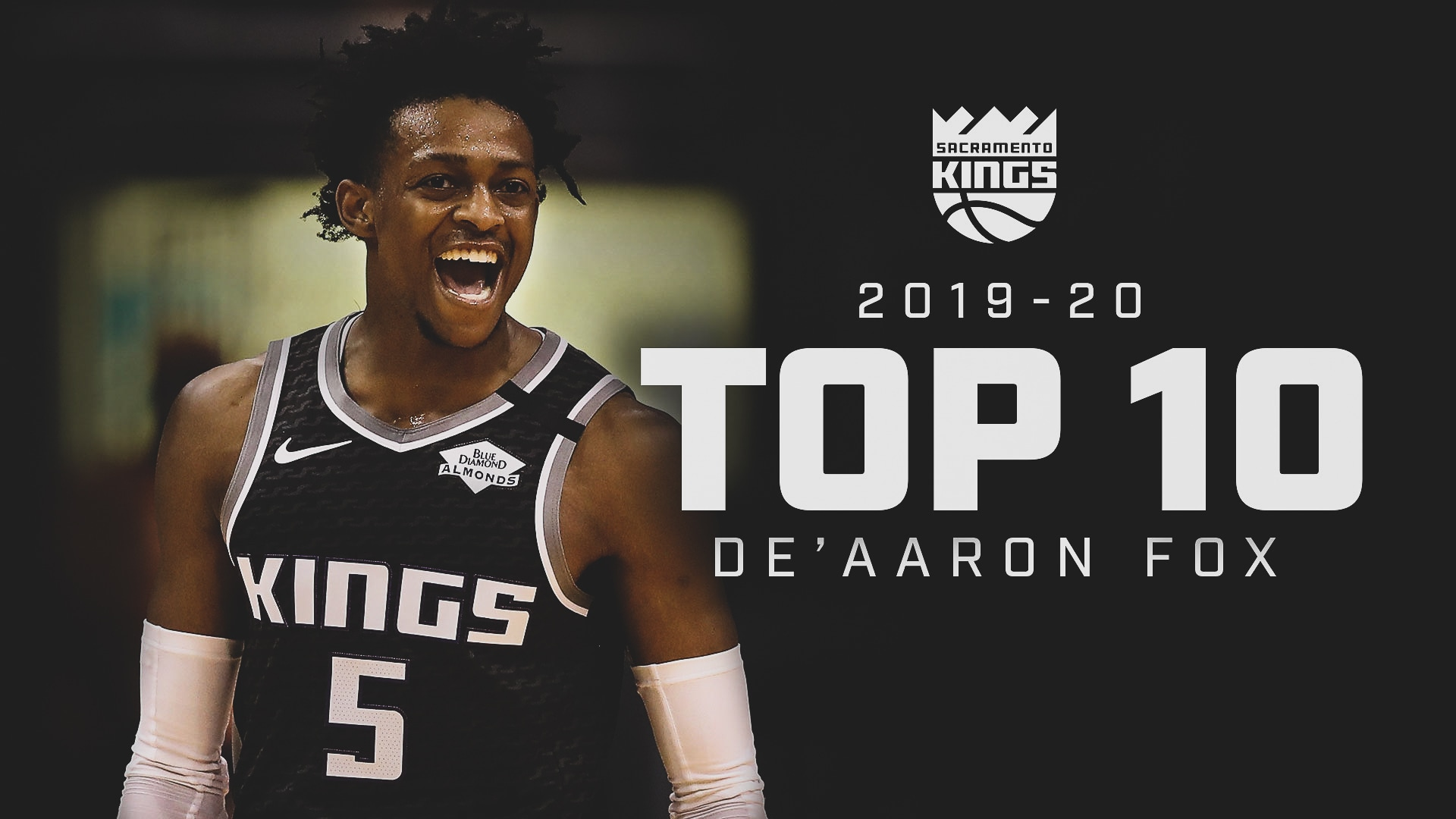 Top 10 De'Aaron Fox Plays! | 2019-20 Season