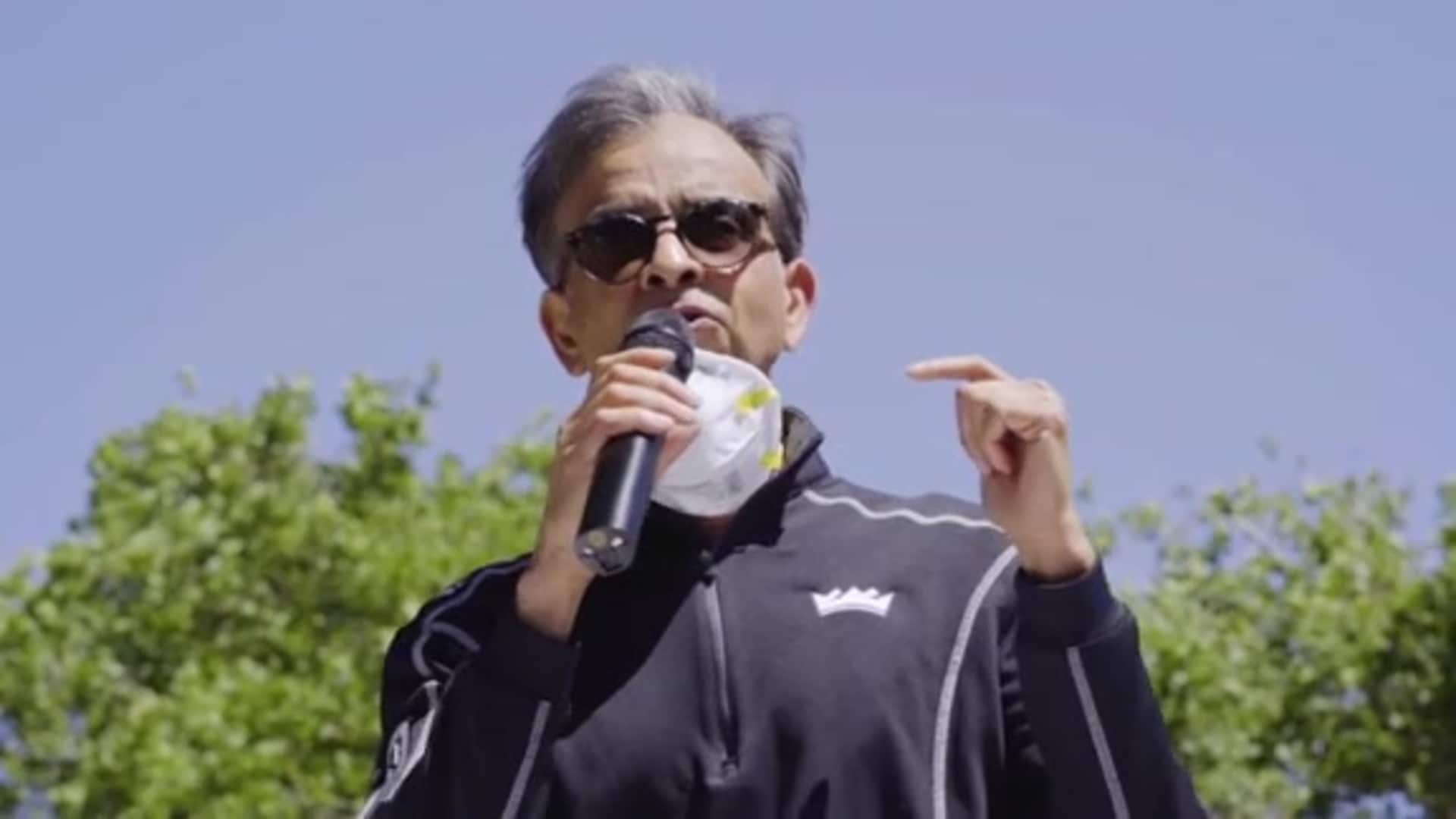 Vivek Ranadivé Speaks at Black Lives Matter Protest