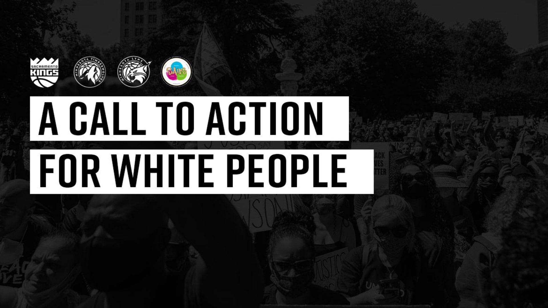 A Call to Action for White People | Team Up for Change