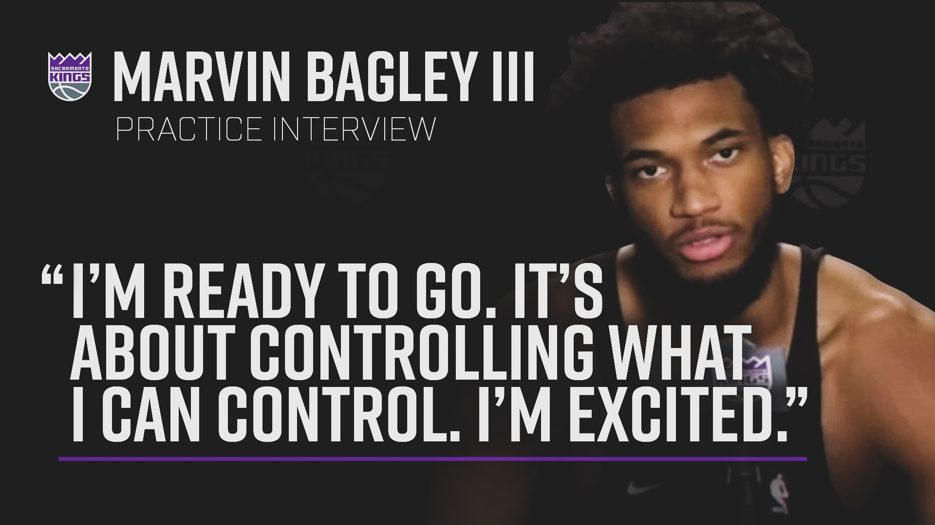 Marvin Excited to Return to Play | Practice Interview 7.2.20