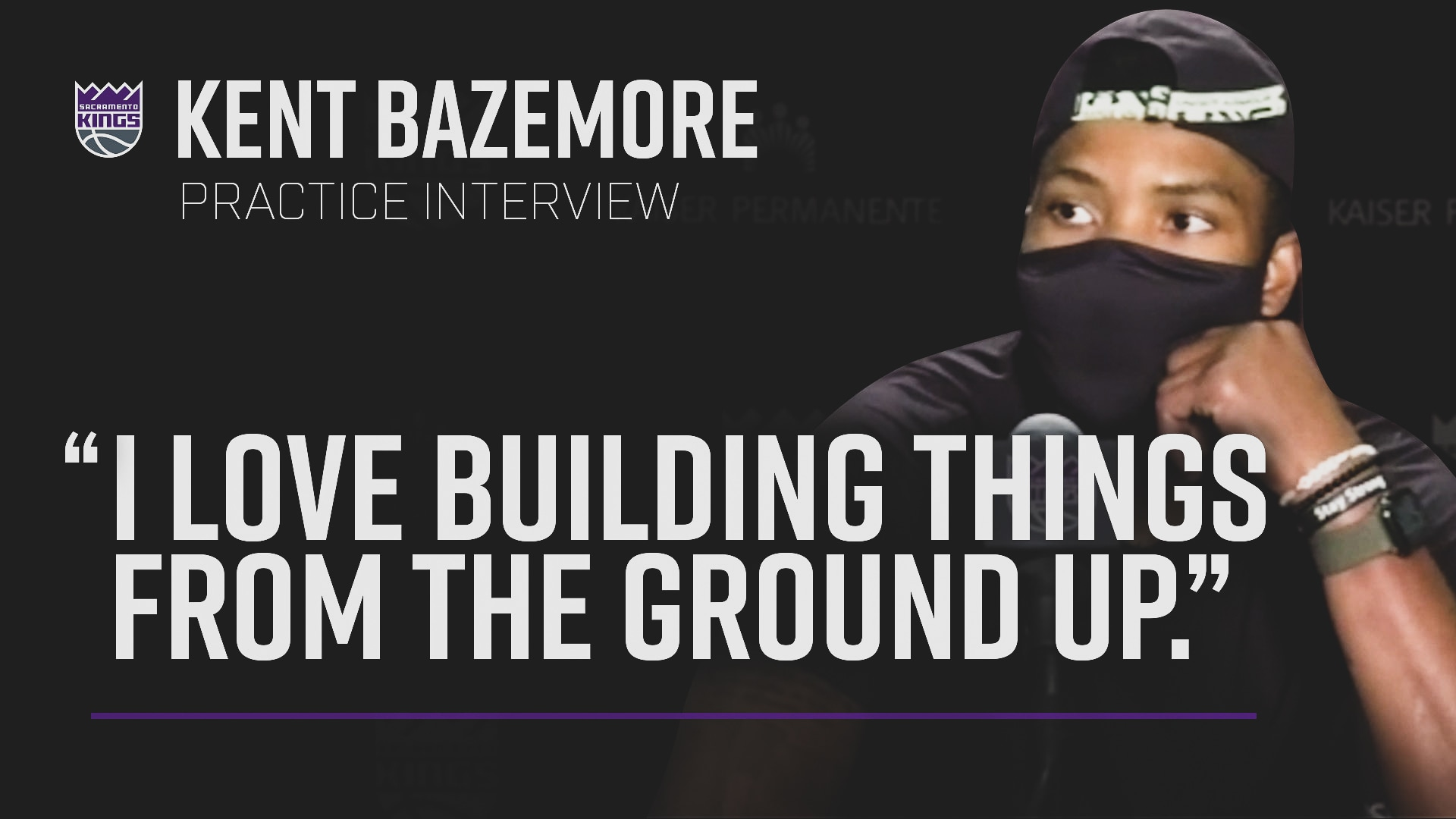 Baze Bringing Playoff Experience | Practice Interview 7.3.20