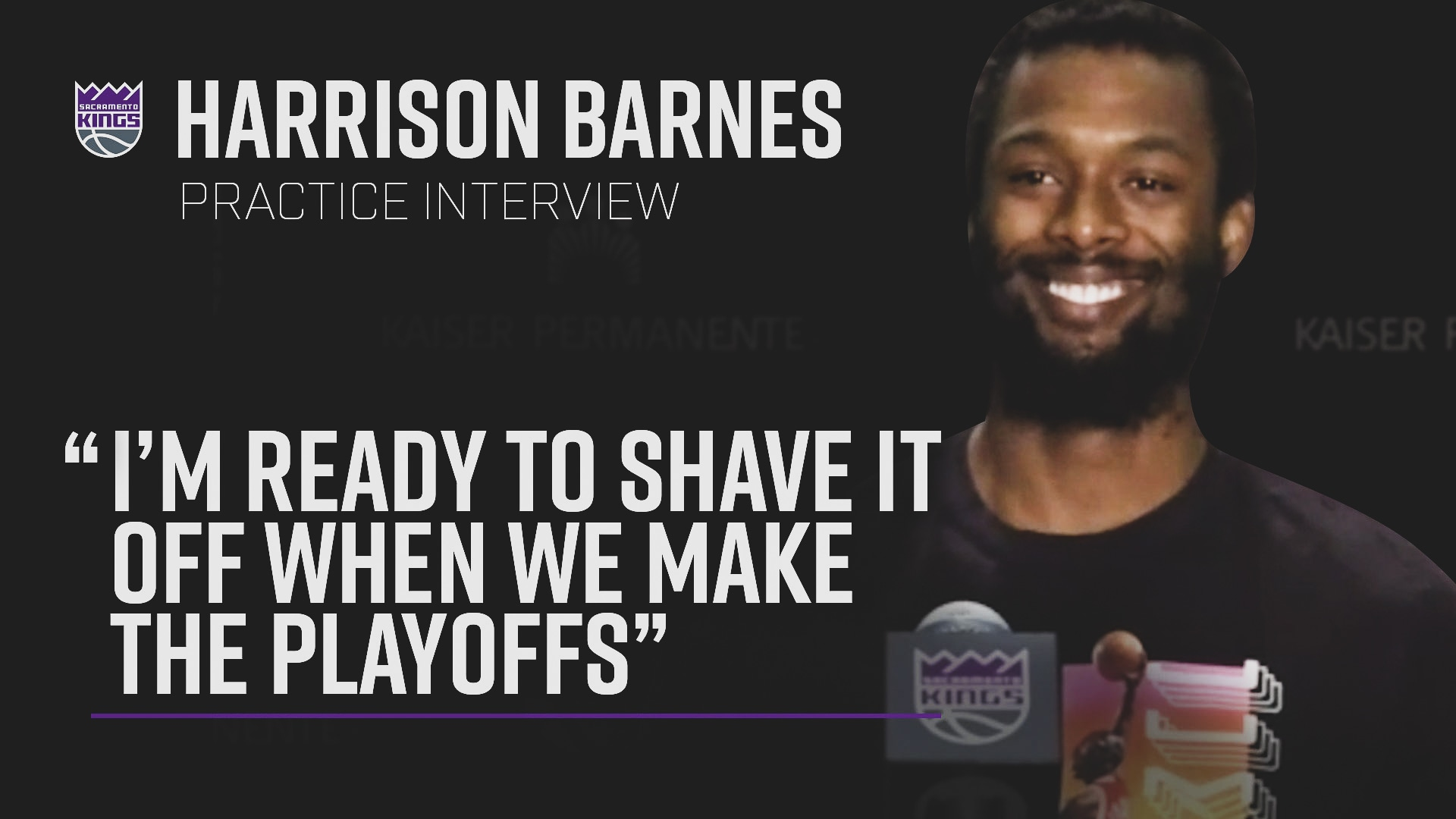 Barnes Talks Playoff Beard | Practice Interview 7.3.20