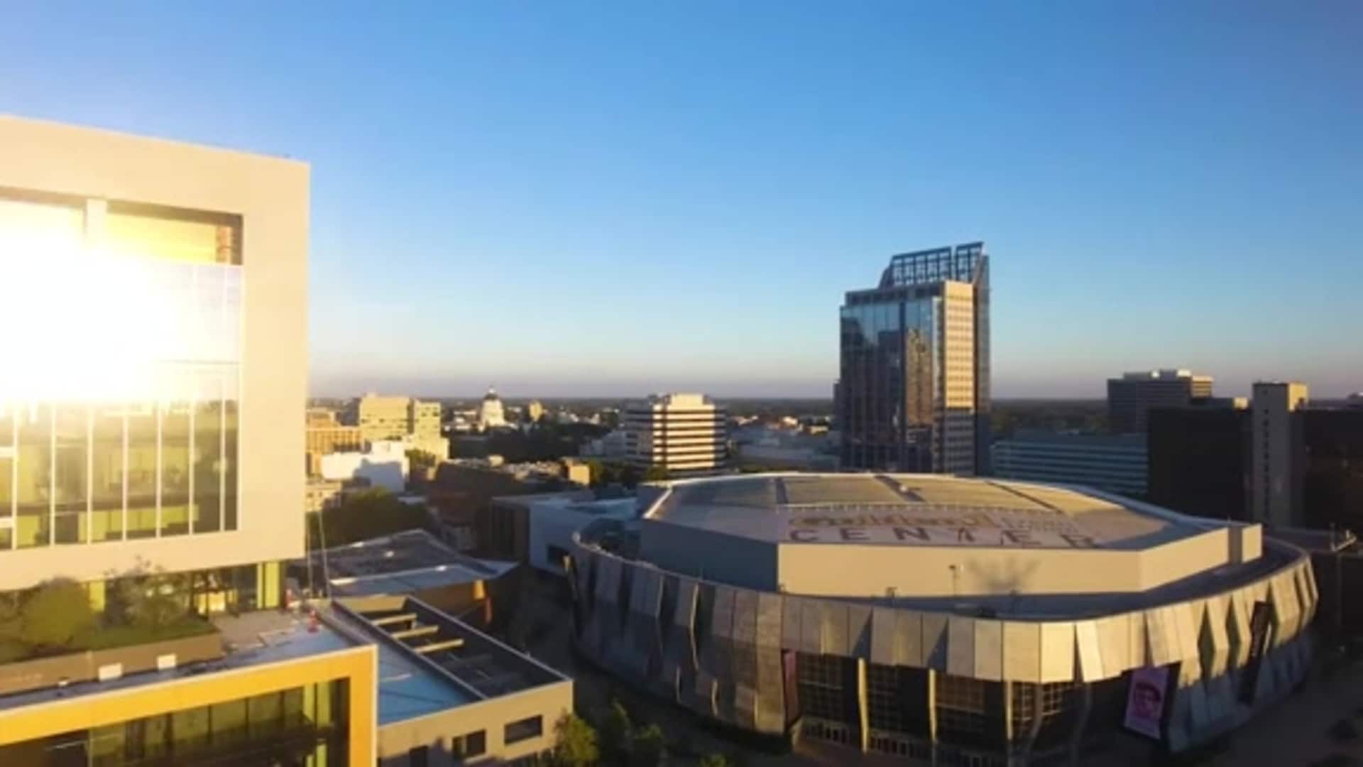 Vote at Golden 1 Center in November!