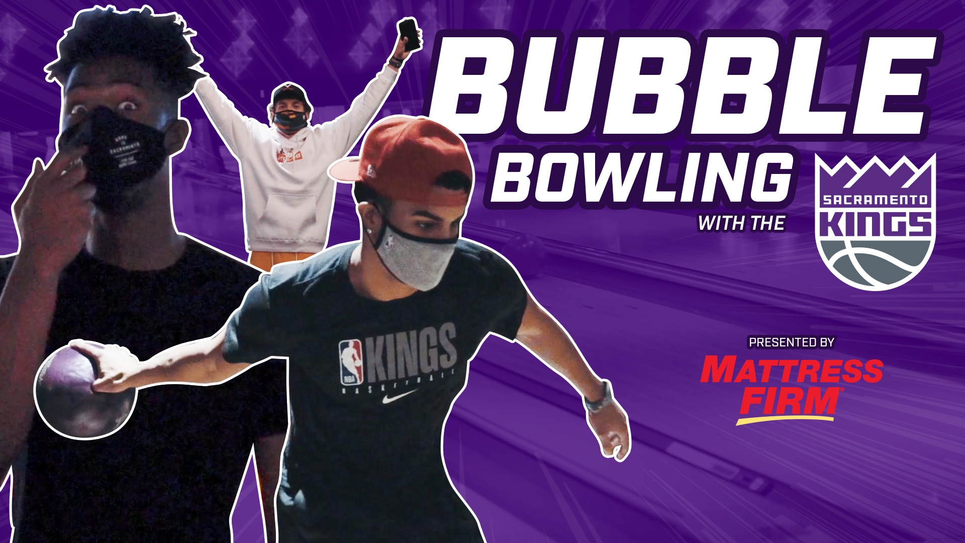 BUBBLE BOWLING with the KINGS!