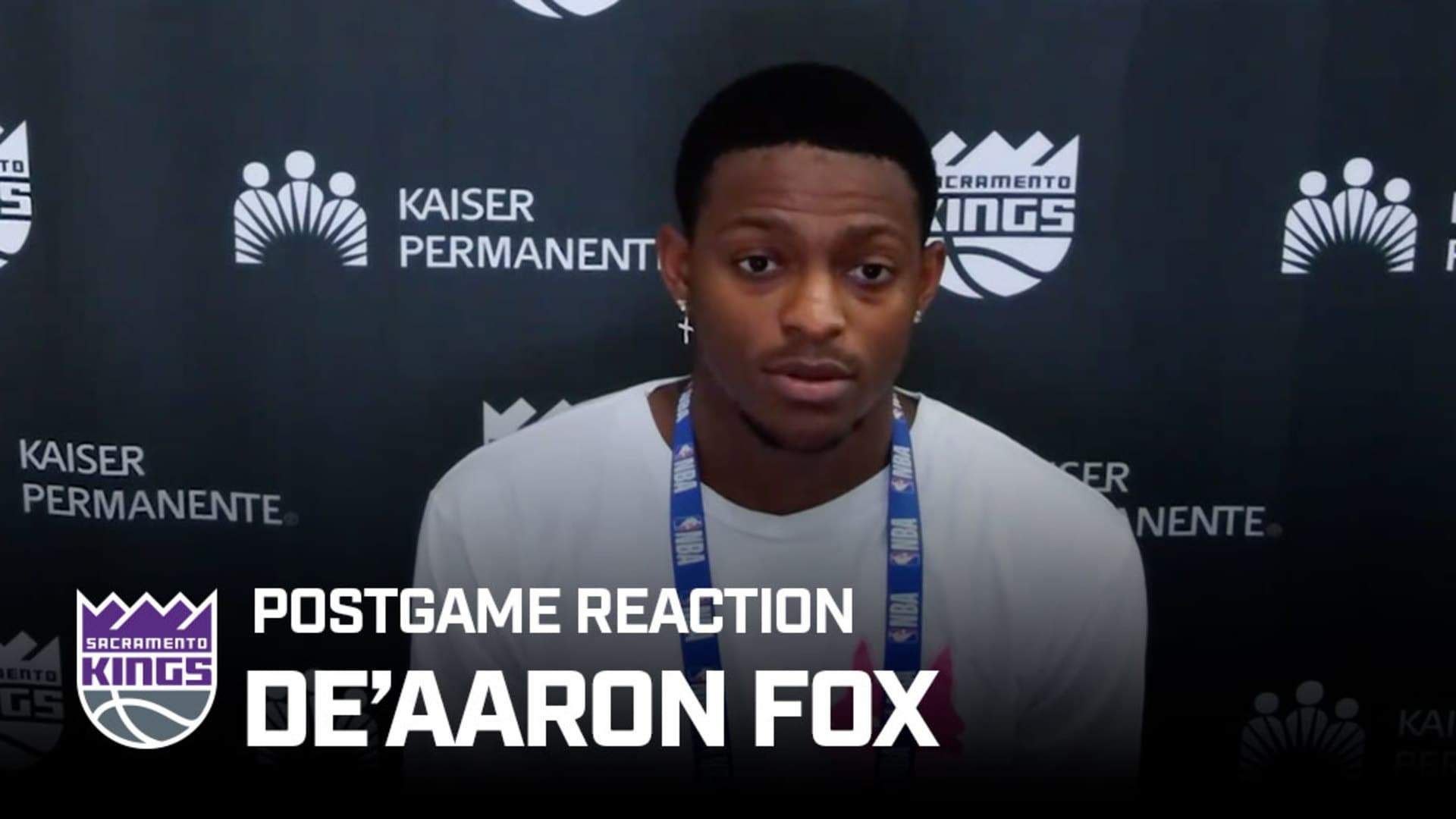 'Every Game is a Must-Win' | De'Aaron Fox Postgame Reaction 7.31.20