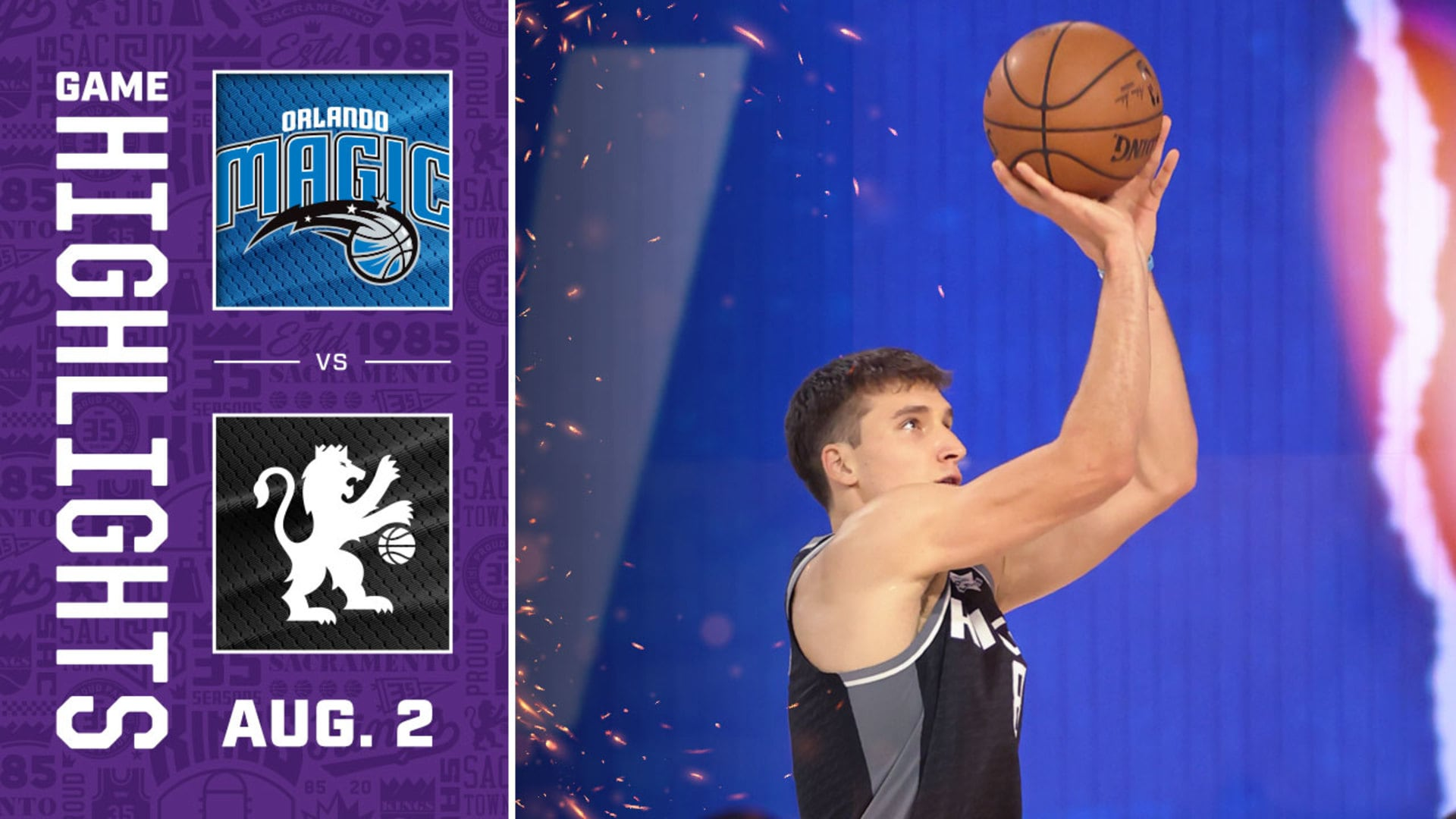 Sacramento Falls Short in Second Restart Contest | Kings vs Magic Highlights