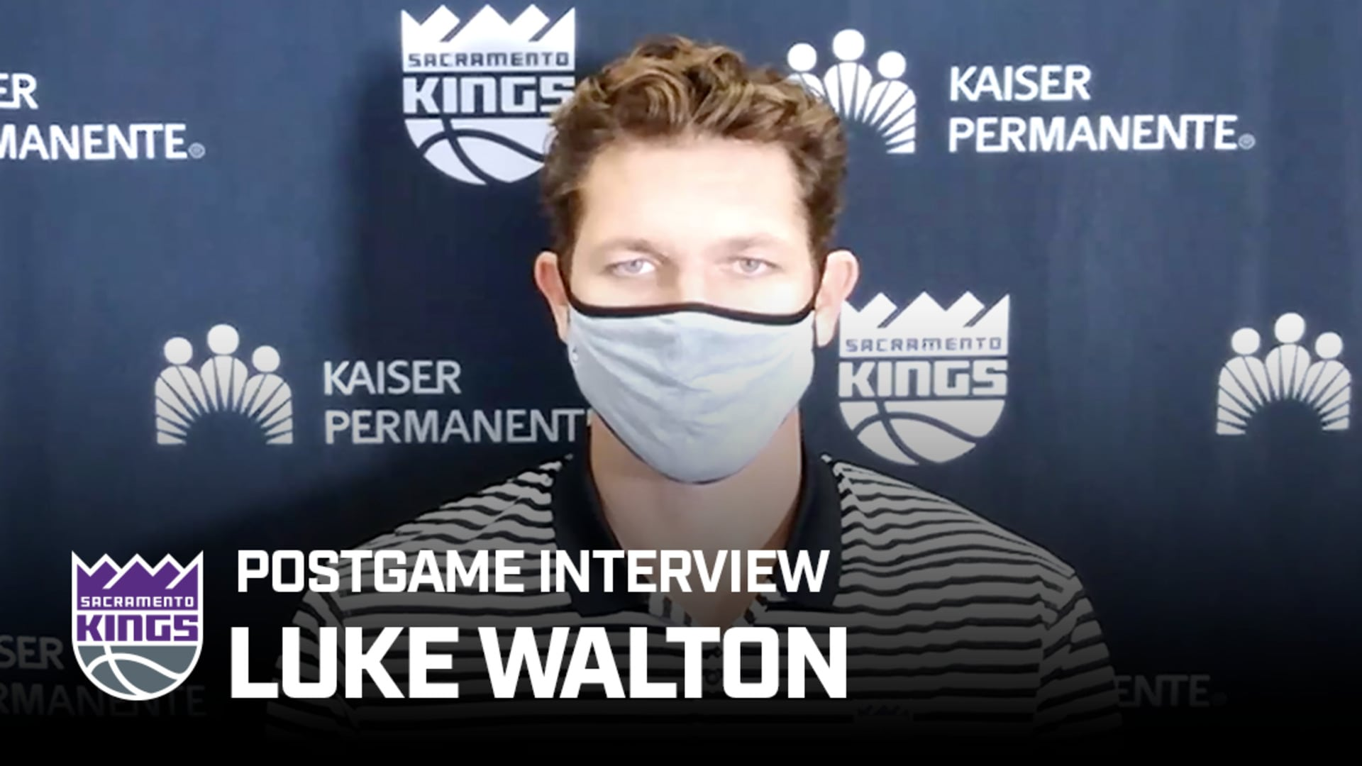 Luke Remains Confident in the Kings | Postgame Interview 8.2.20