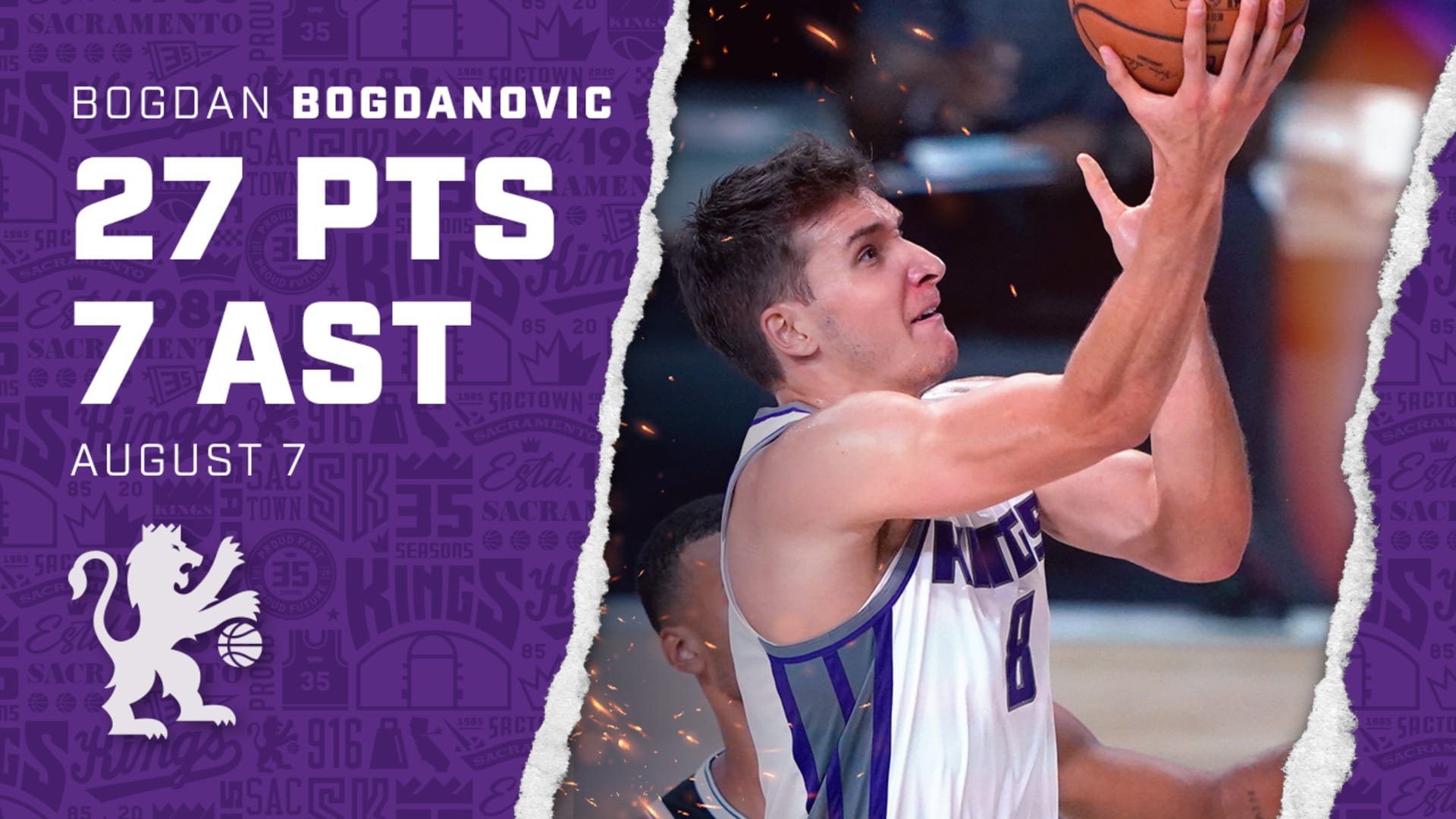 Bogi Continued His Hot Streak (27 PTS) | Kings vs Nets 8.7.20