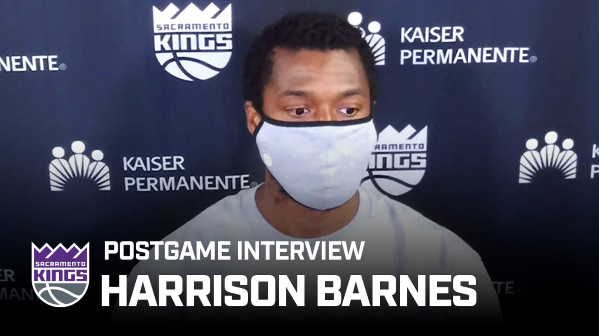 'It's About All of Us Taking Accountability' | Harrison Barnes Postgame Interview 8.7.20