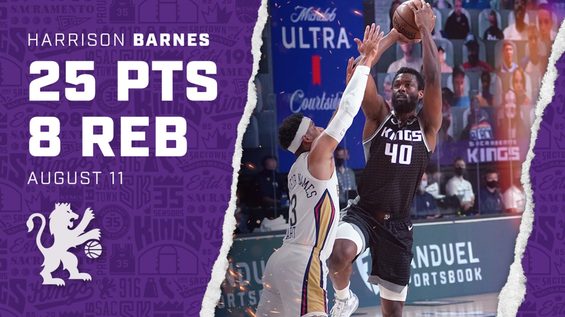 HB was an All-Around Force in the Matchup | Kings vs Pelicans 8.11.20