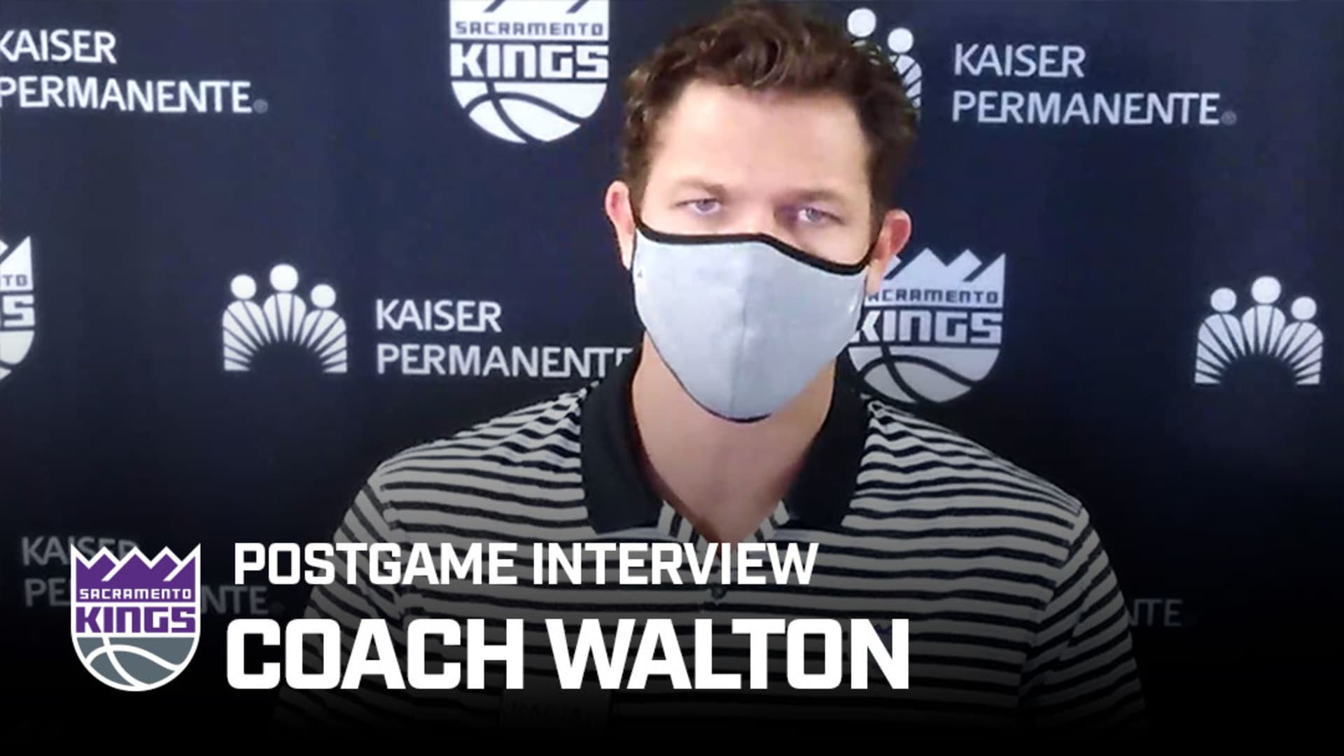 'Our Guys Responded Nicely' | Coach Walton Postgame Interview 8.11.20