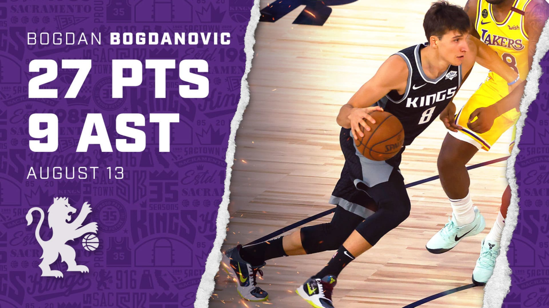 Bogi Racks Up Another Big Game in the Bubble!   27 PTS & 9 AST