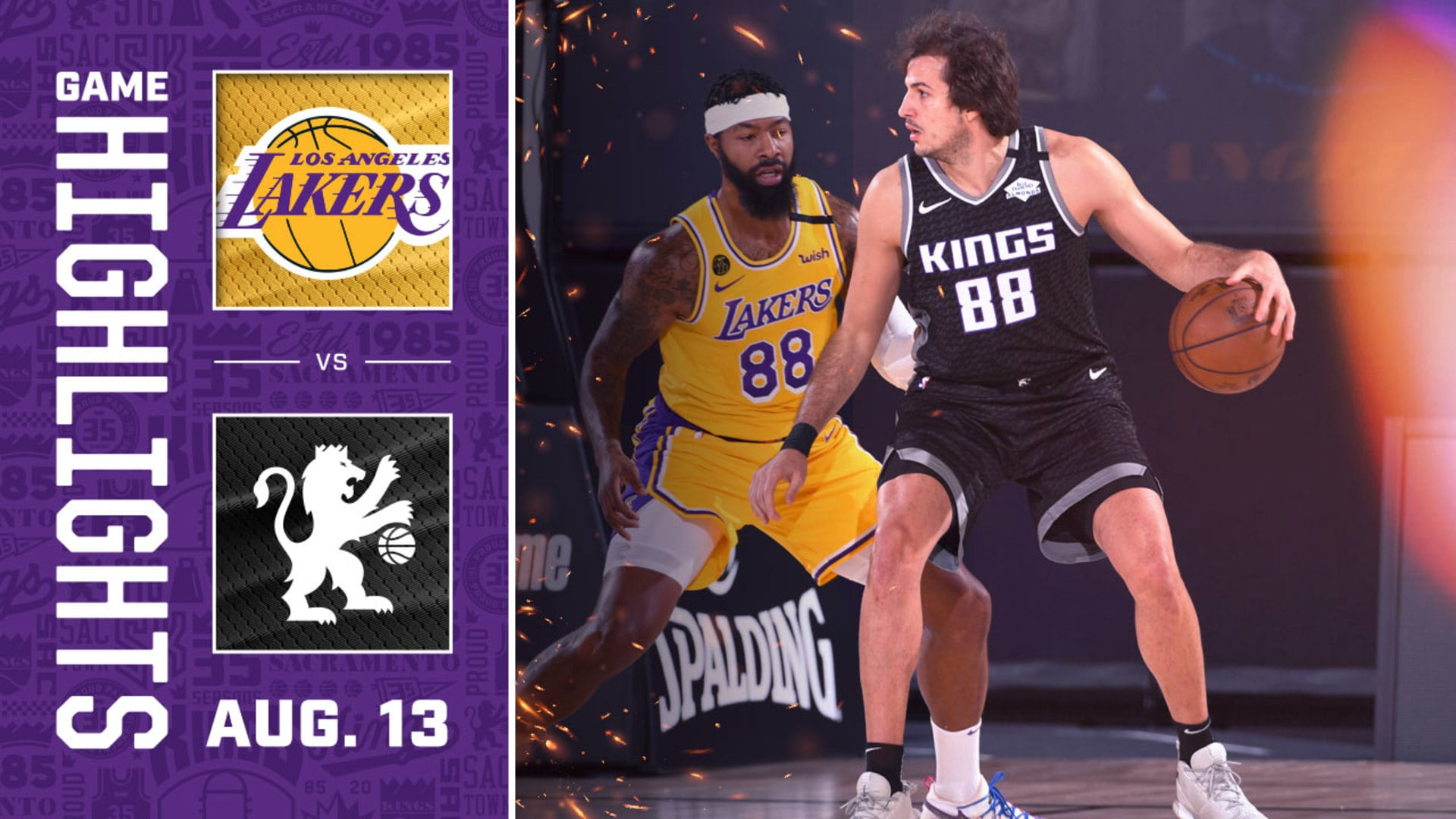 Kings Beat LA to End Season on a High Note | Kings vs Lakers Highlights