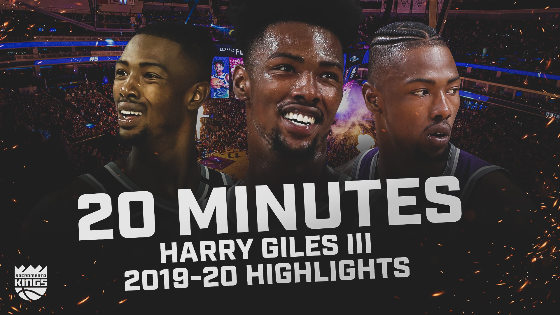2019-20 Harry Giles III Highlights