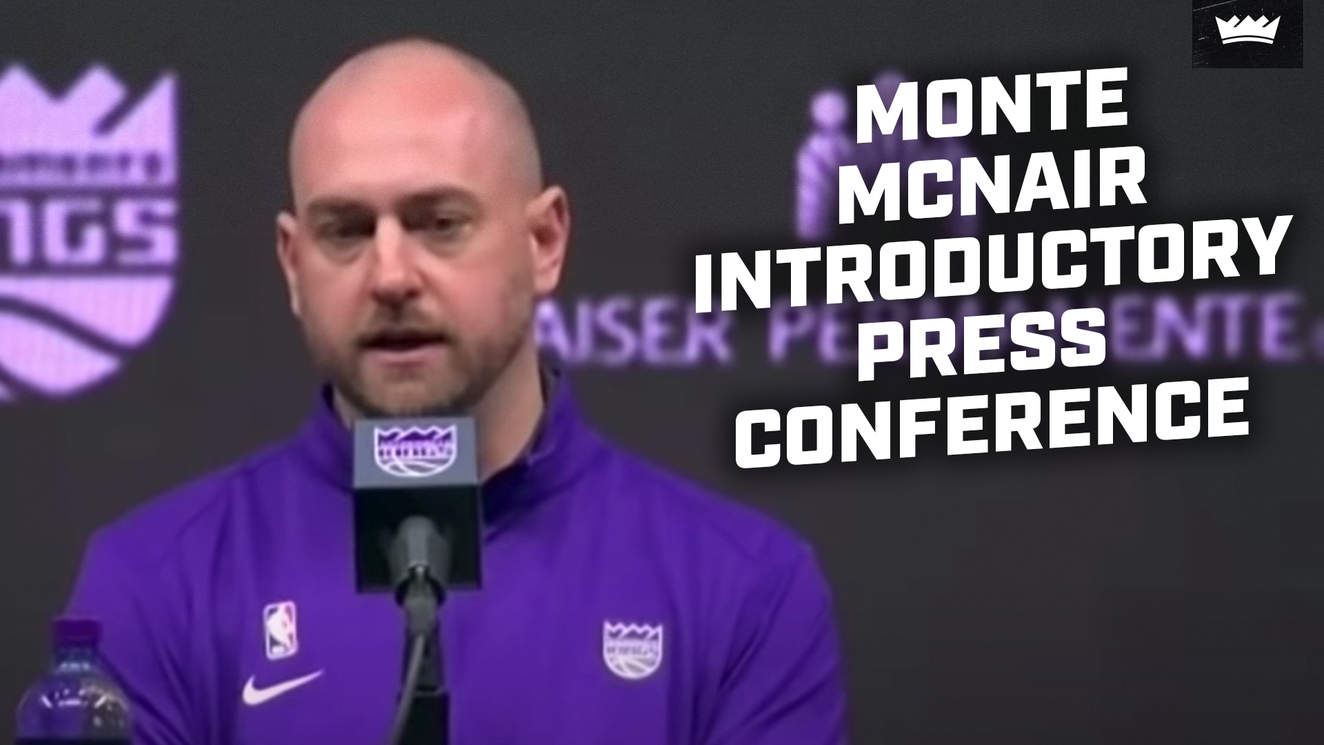 Monte McNair Introductory Press Conference