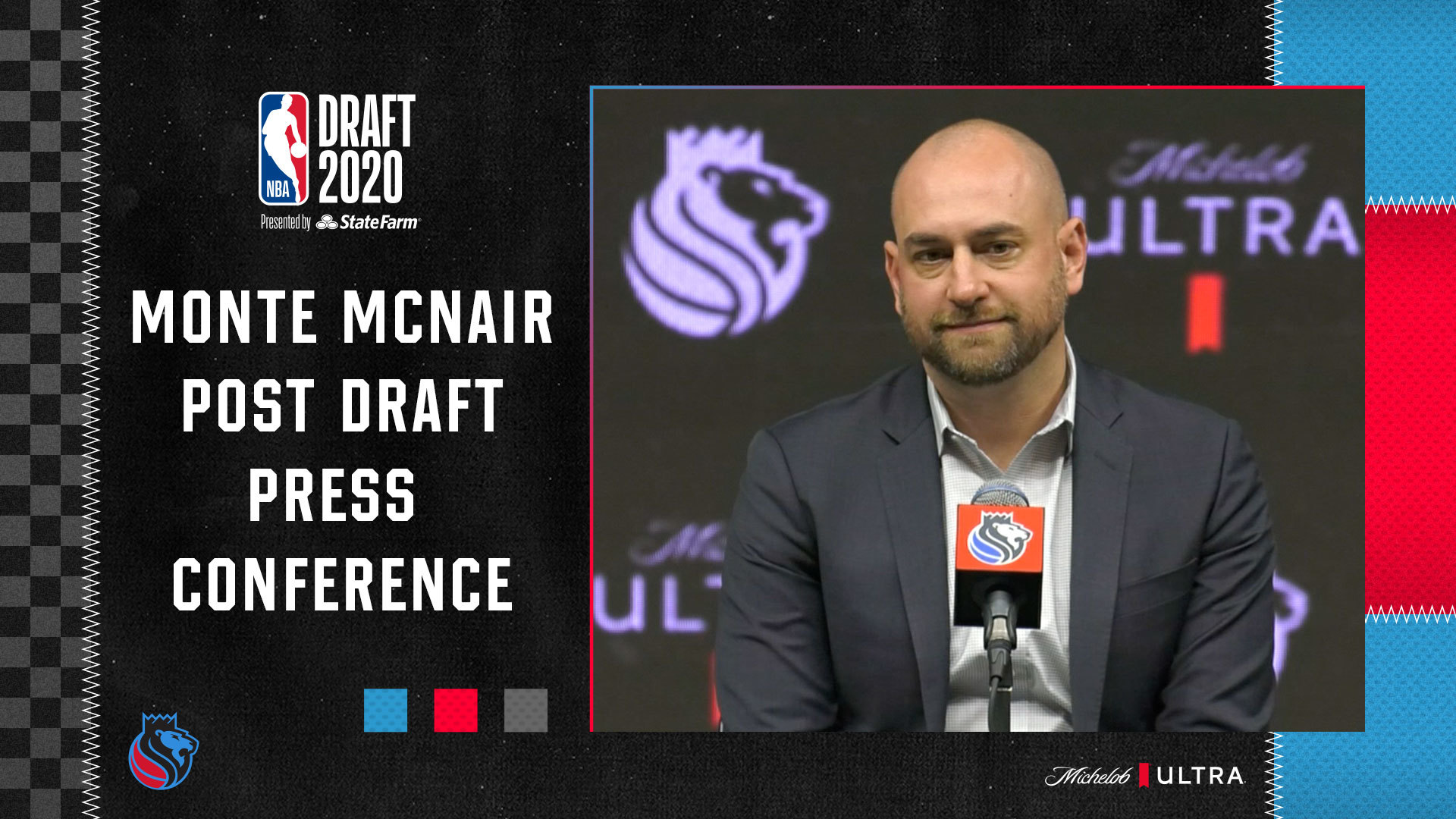 Monte McNair Post Draft Press Conference