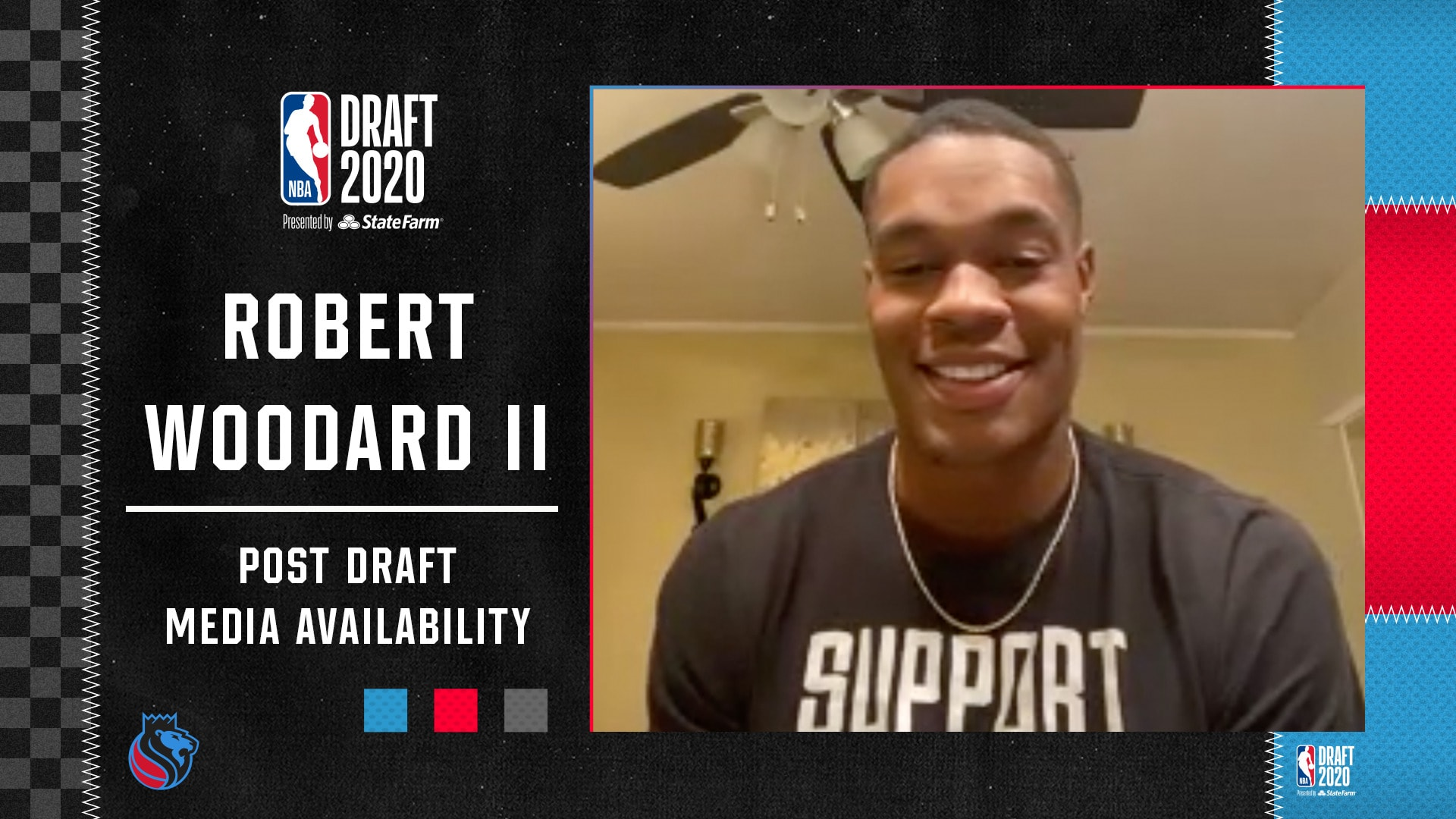 2020 Post Draft Media Availability | Robert Woodard II