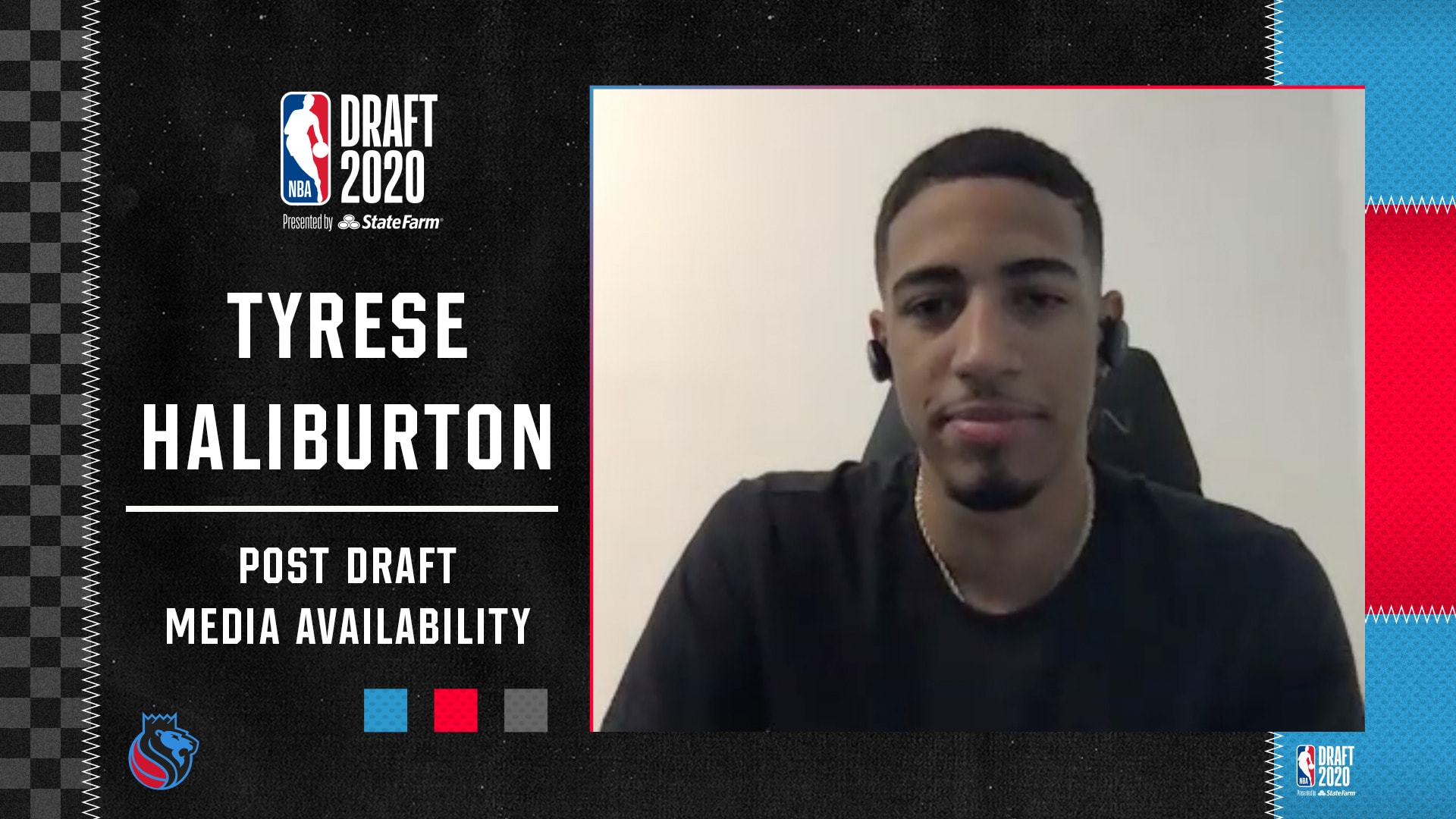 2020 Post Draft Media Availability | Tyrese Haliburton