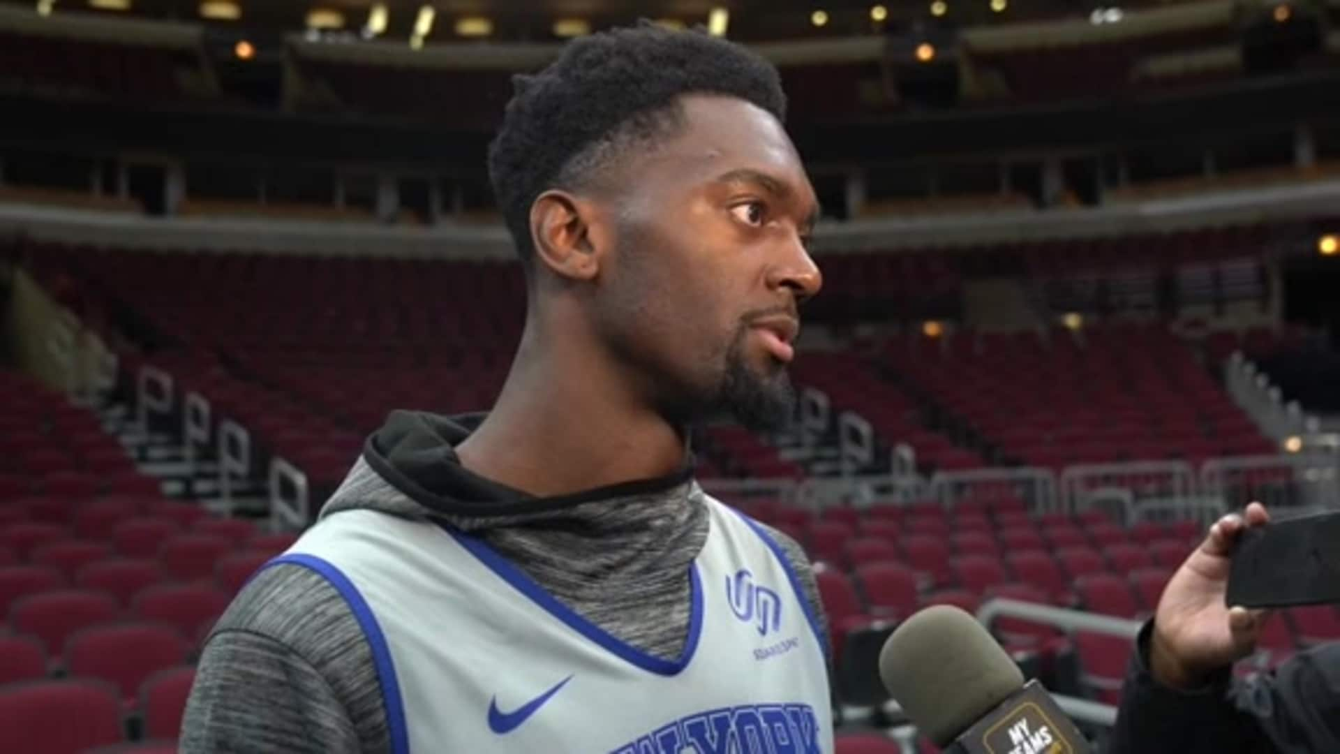 Knicks Shootaround: Bobby Portis | November 12 @ Bulls