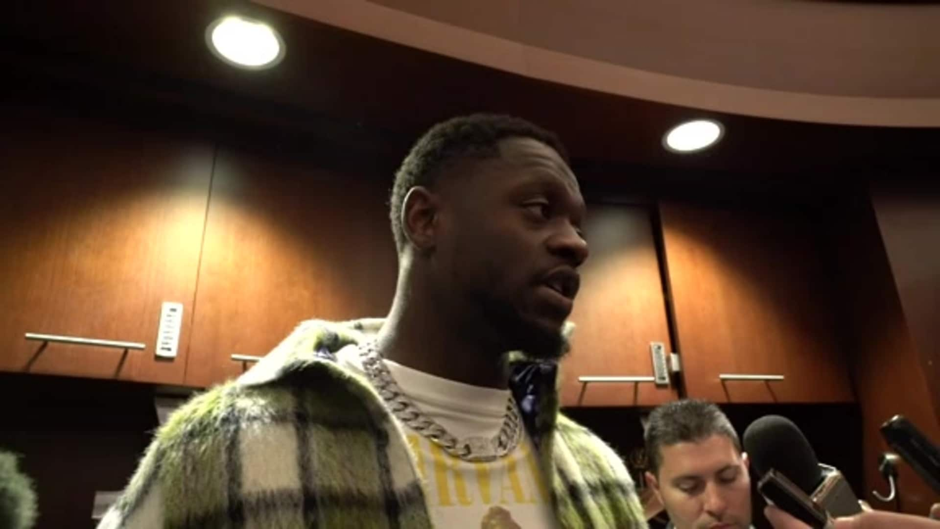 Knicks Postgame: Julius Randle | November 14 vs. Mavericks