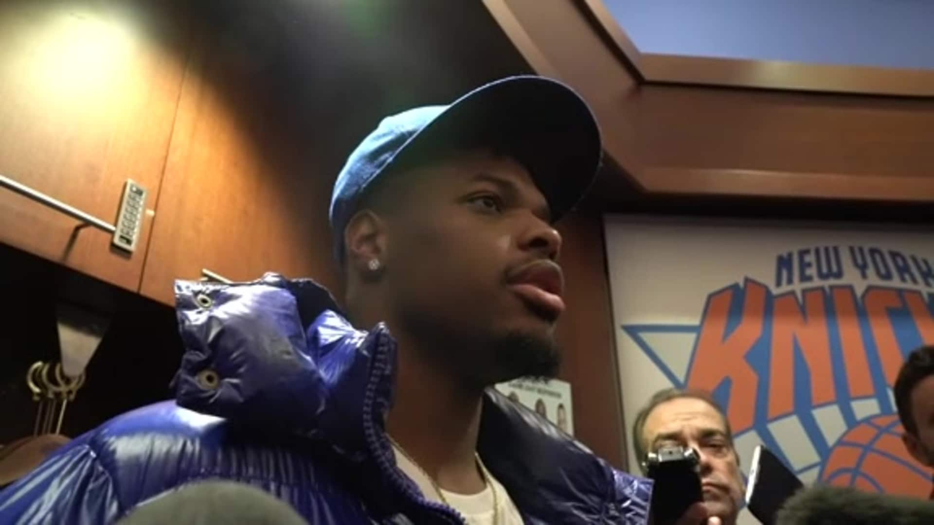 Knicks Postgame: Dennis Smith Jr. | November 14 vs. Mavericks