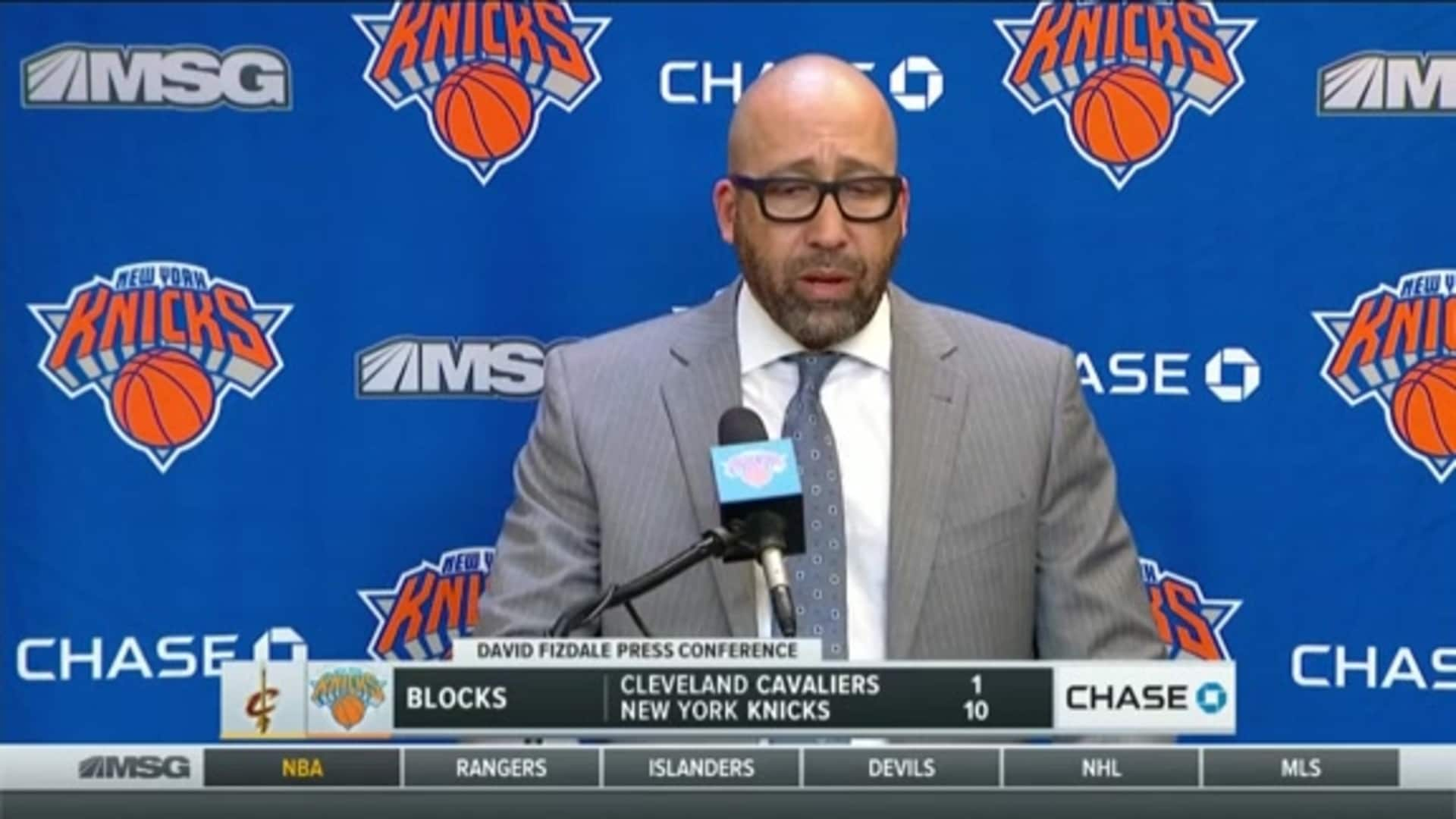 Knicks Postgame: Coach Fizdale | November 18 vs. Cavaliers