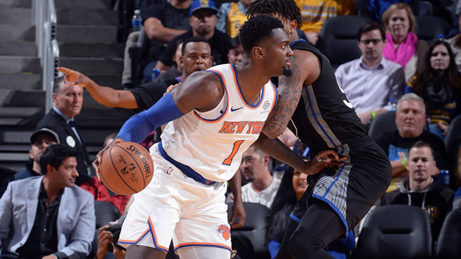 Highlights: Bobby Portis (15 Points) | Knicks @ Warriors