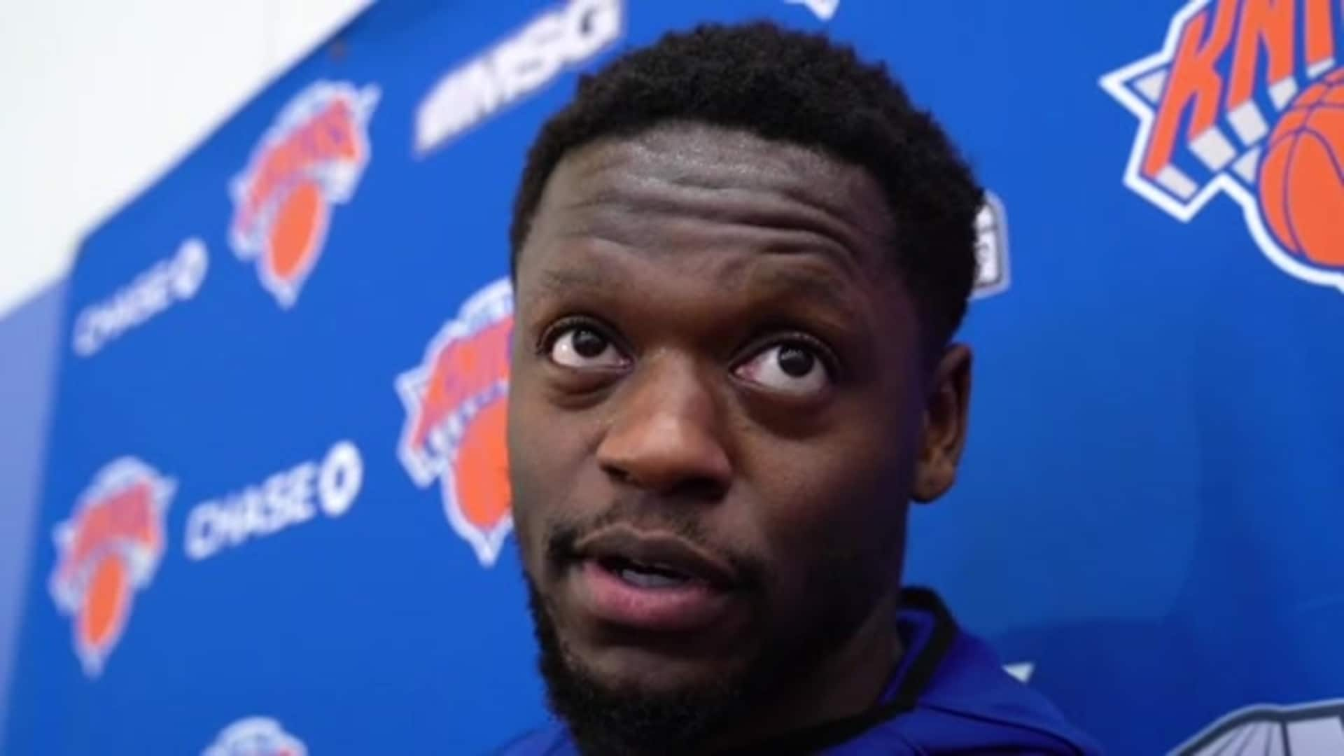 Knicks Practice: Julius Randle | January 17