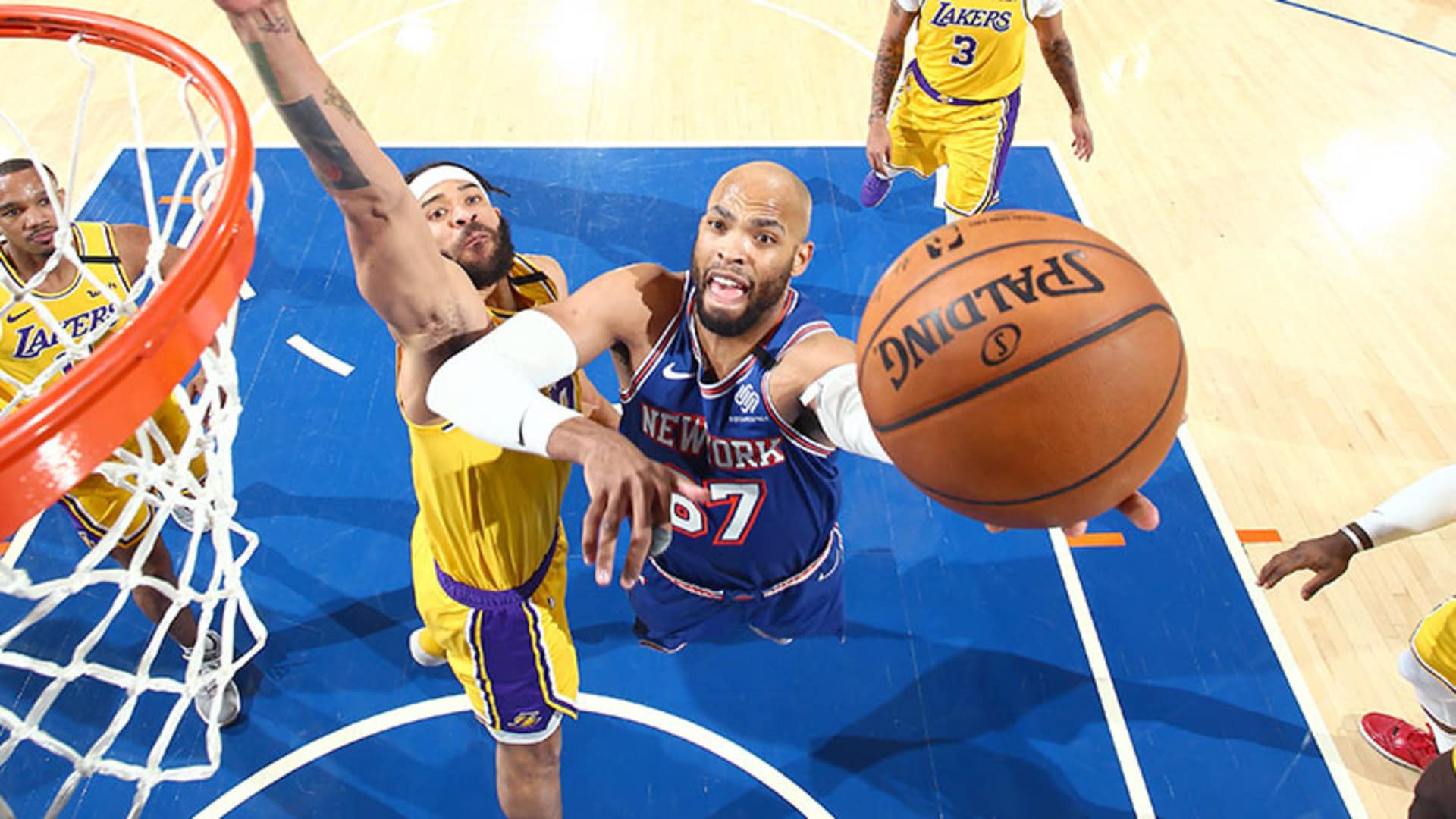Highlights: Taj Gibson (12 Points) | Knicks vs. Lakers