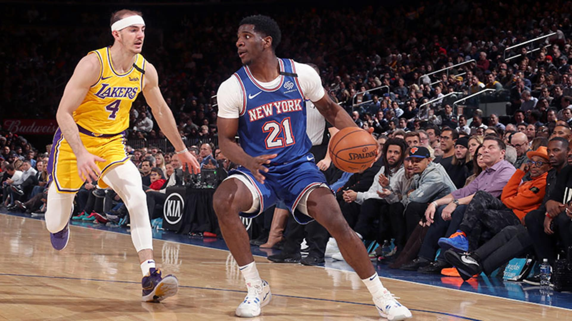 Highlights: Damyean Dotson (17 Points) | Knicks vs. Lakers