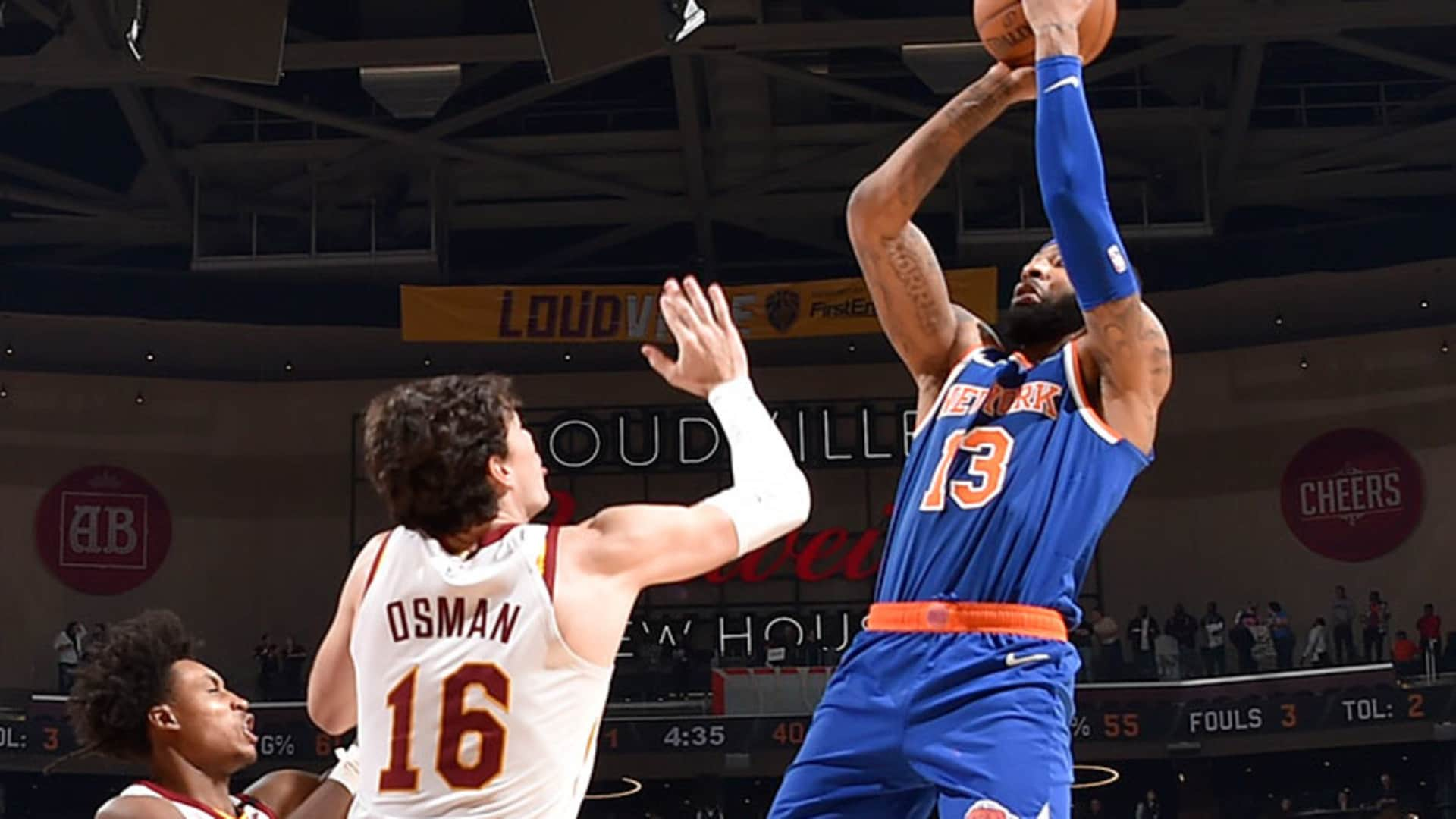 Highlights: Marcus Morris Sr. (26 Points) | Knicks @ Cavaliers