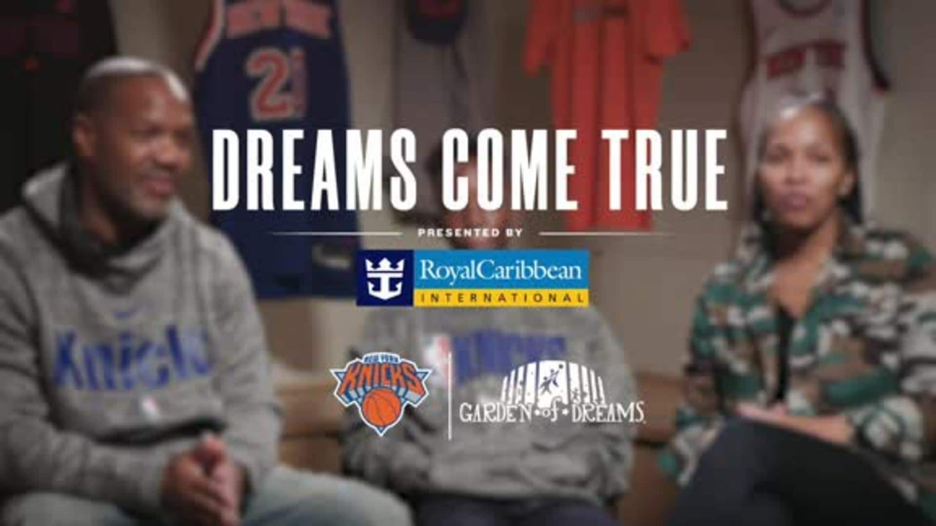 Dreams Come True, Presented by Royal Caribbean | Jelani Fouyalle
