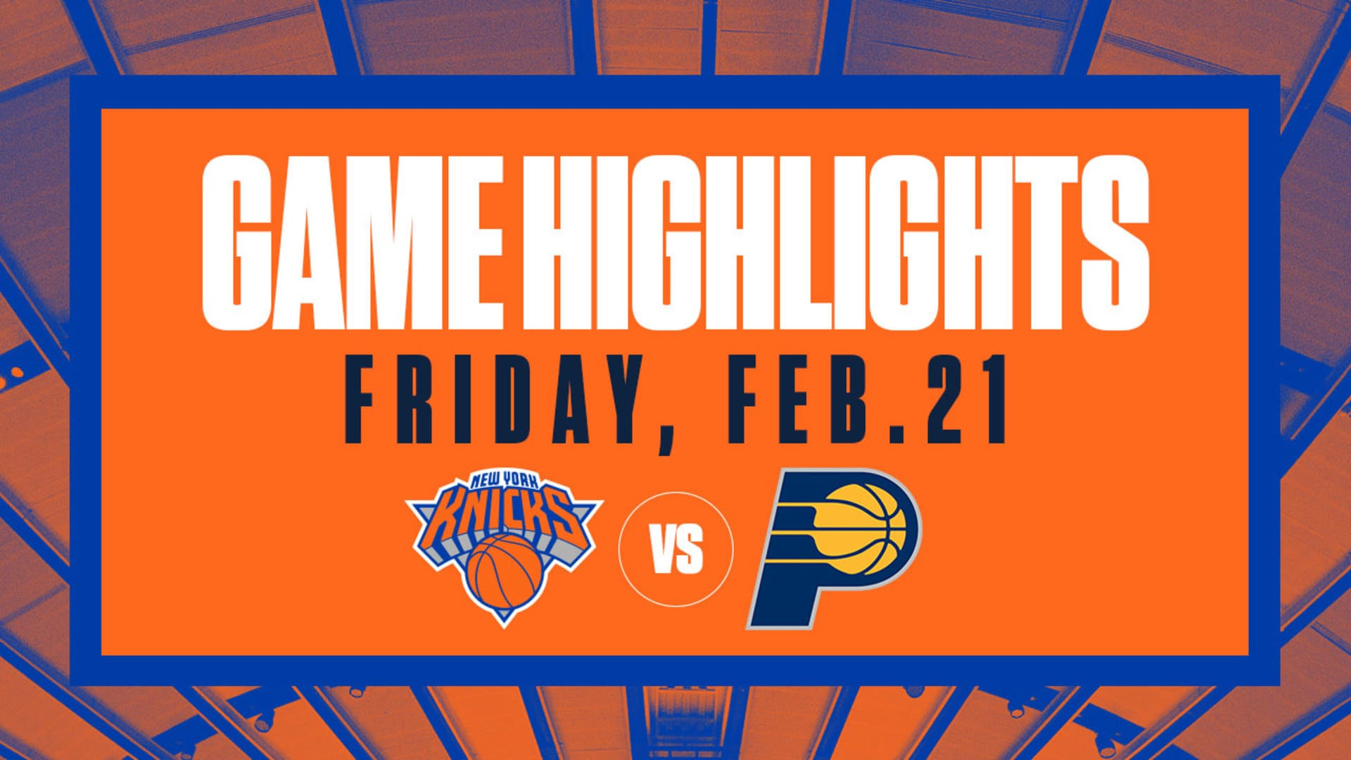 Highlights: Knicks 98 | Pacers 106