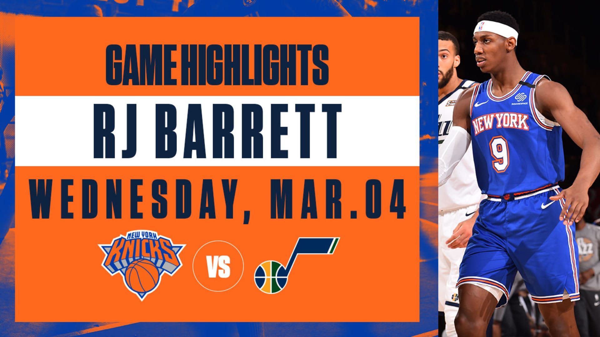 Highlights: RJ Barrett (14 Points) | Knicks vs. Jazz