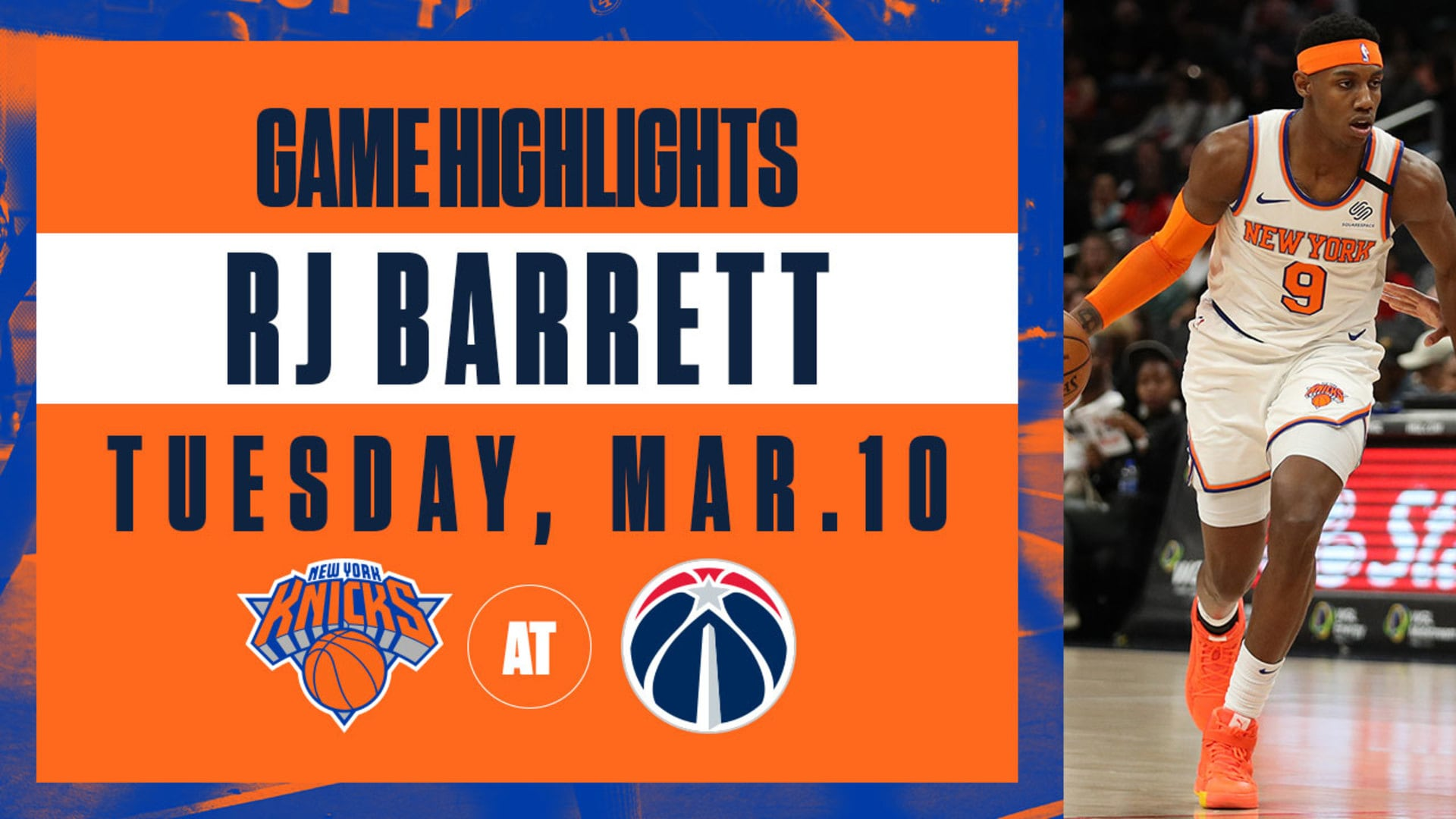 Highlights: RJ Barrett (16 Points) | Knicks @ Wizards