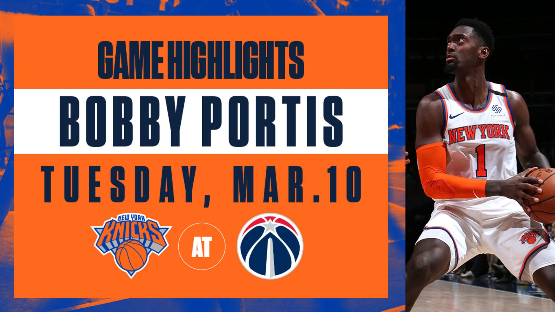 Highlights: Bobby Portis (20 Points) | Knicks @ Wizards