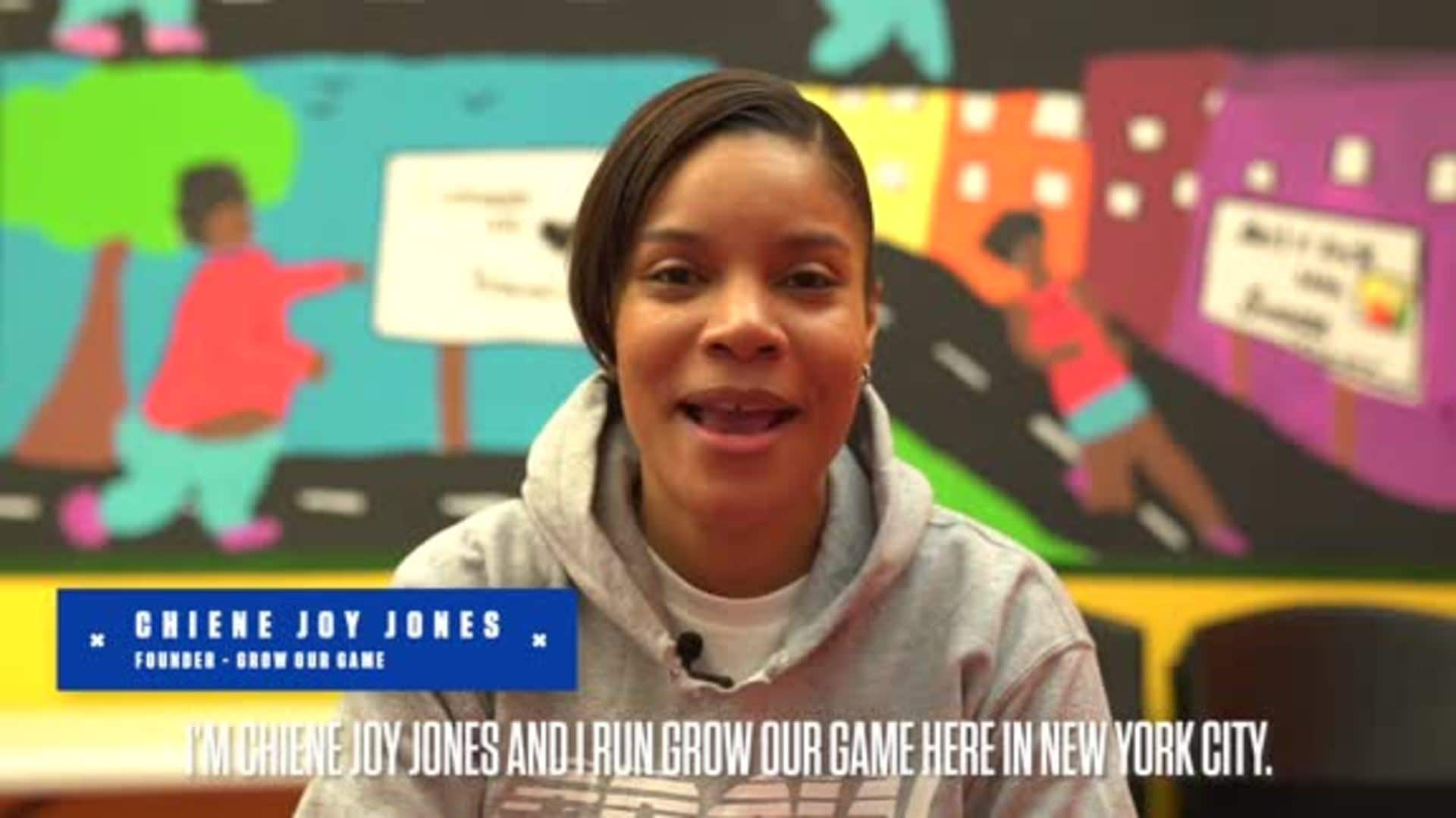 Meet Chiene Joy Jones, Our 2020 HSS Junior Knicks Coach of the Year