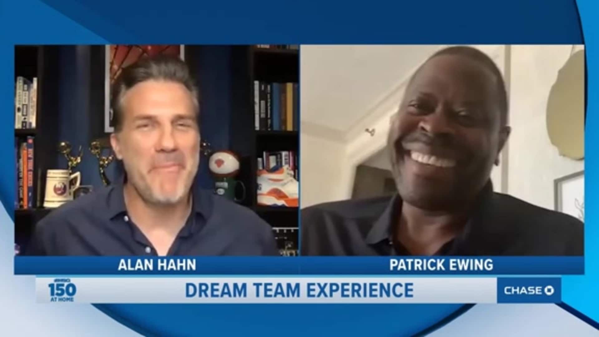 Patrick Ewing Joins Alan Hahn on the MSG 150 at Home