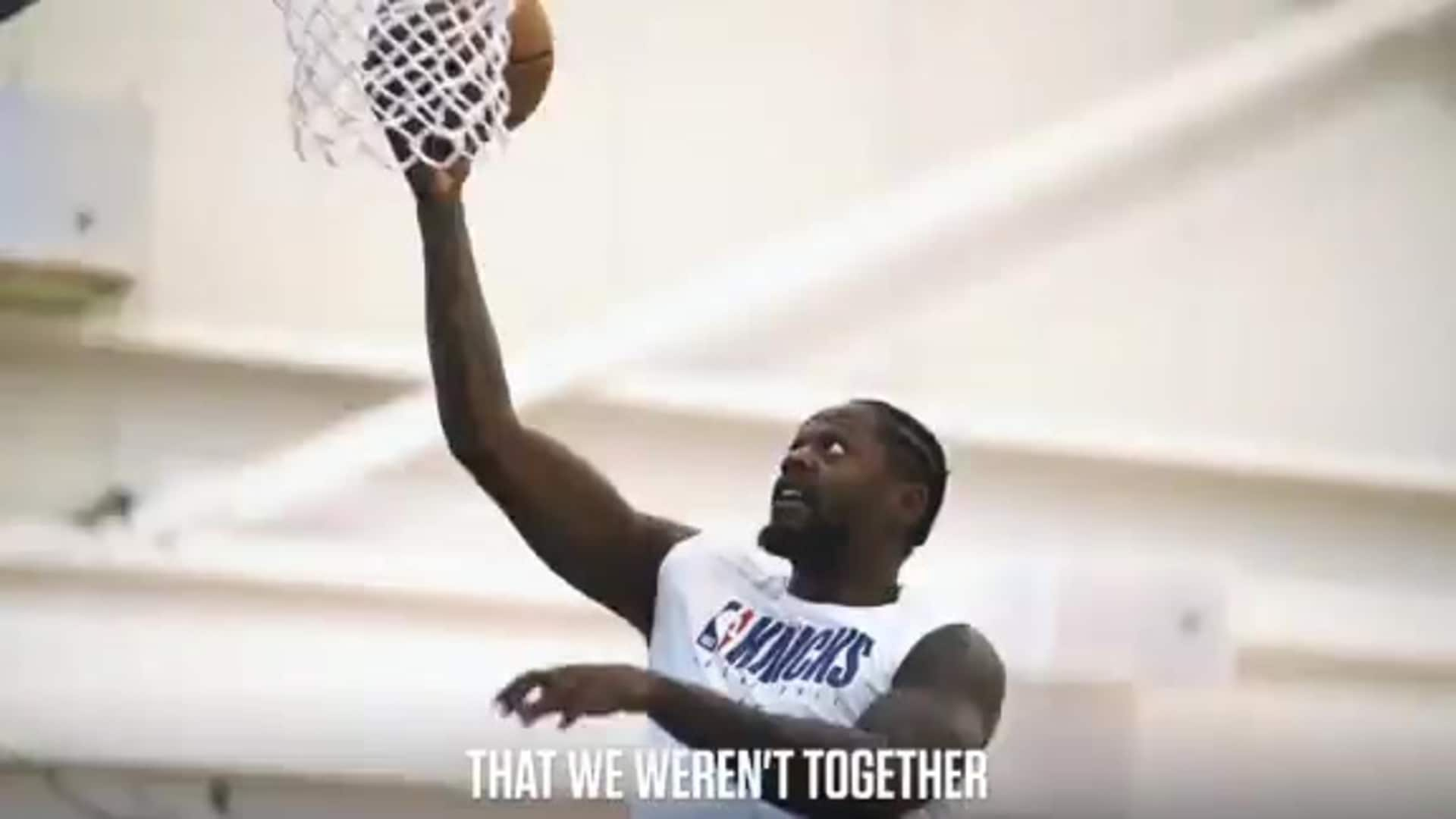 Julius Randle Bubble Practice Highlights | Knicks in Focus Presented by HSS