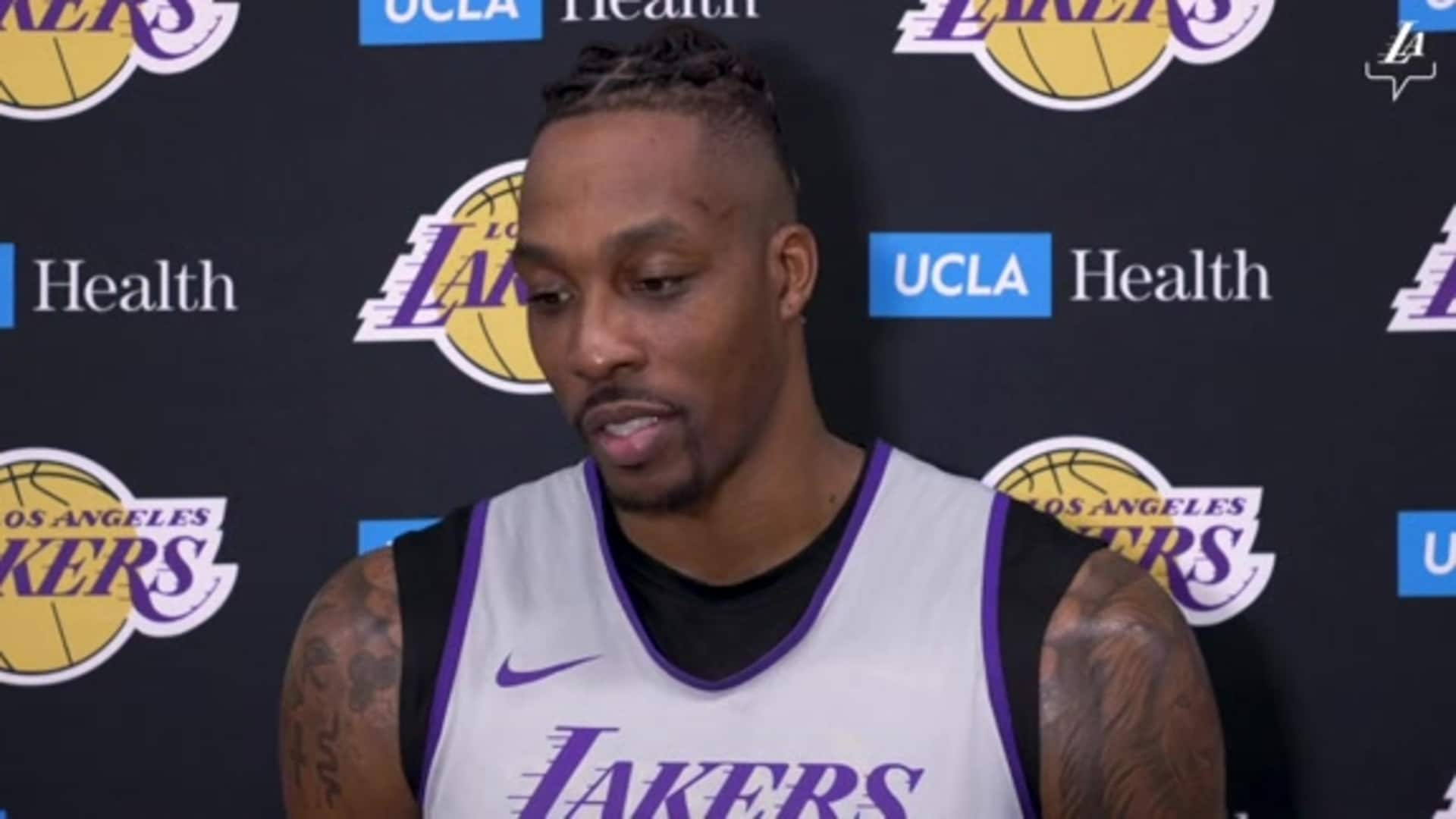Practice Report: Dwight Howard (1/17/20)