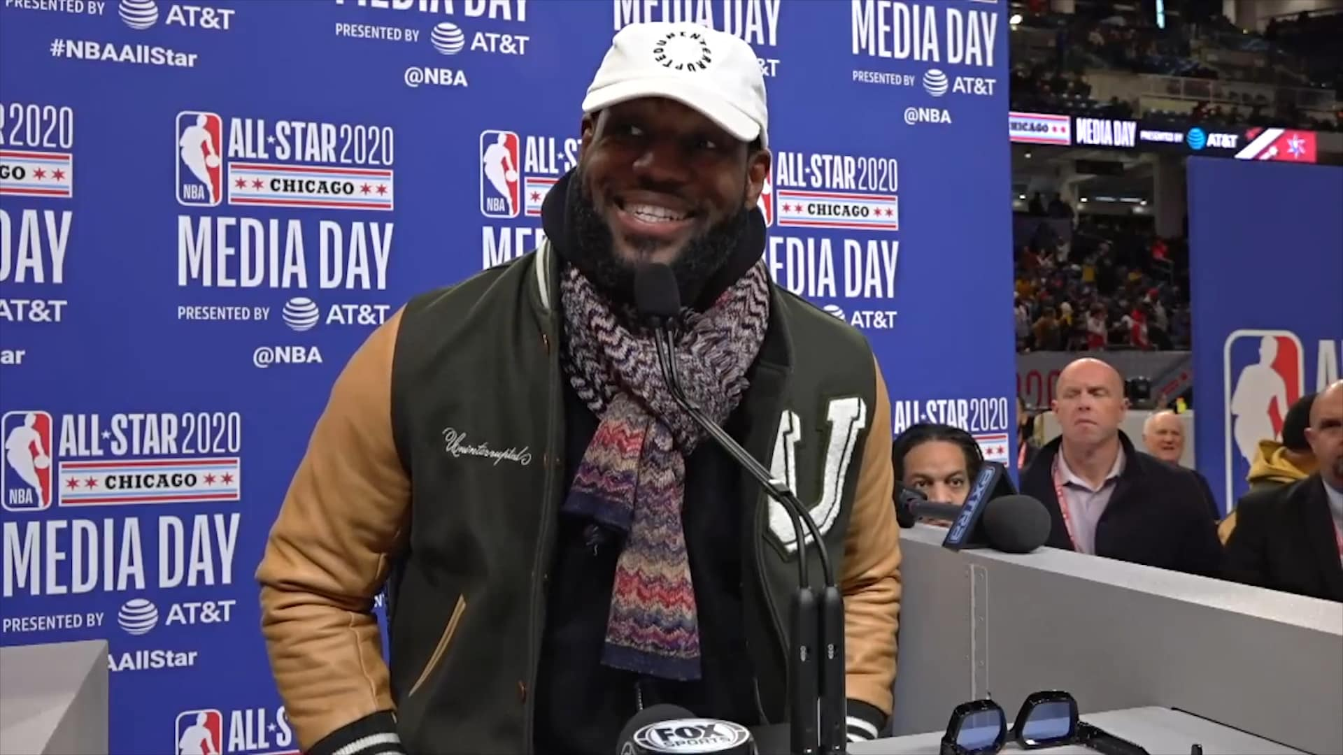 Lakers All-Star Media Day: LeBron James (2/15/20)
