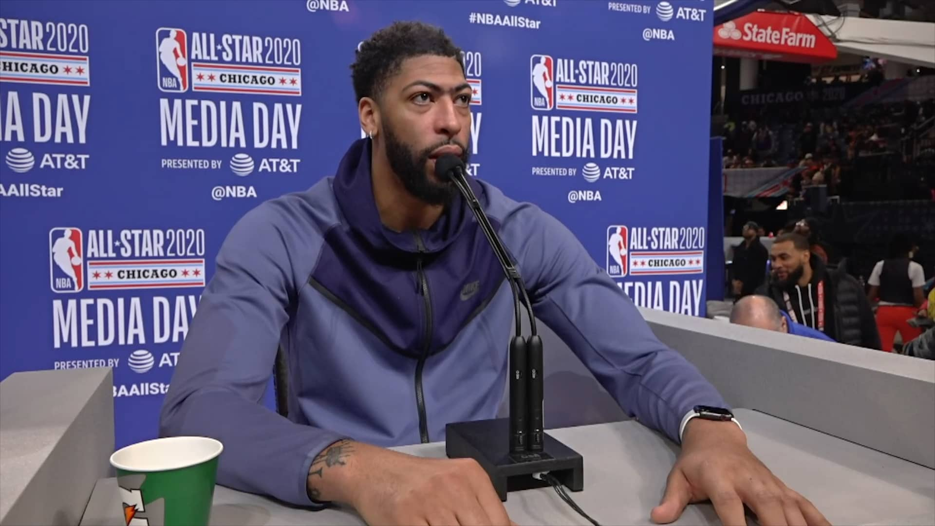 Lakers All-Star Media Day: Anthony Davis (2/15/20)