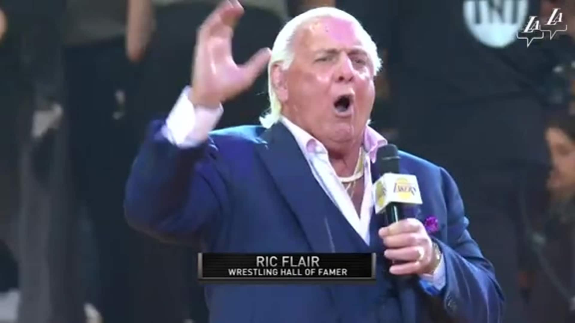 Ric Flair in the house
