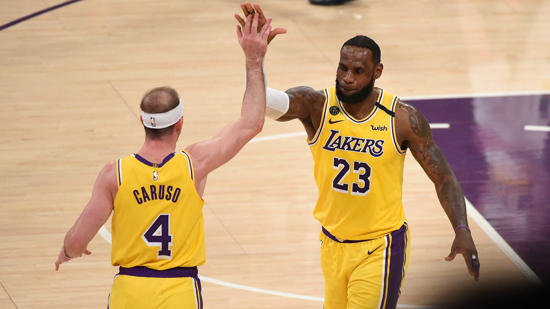 Lakers Reaction: LeBron, Caruso Provide Big Plays to Beat Pelicans