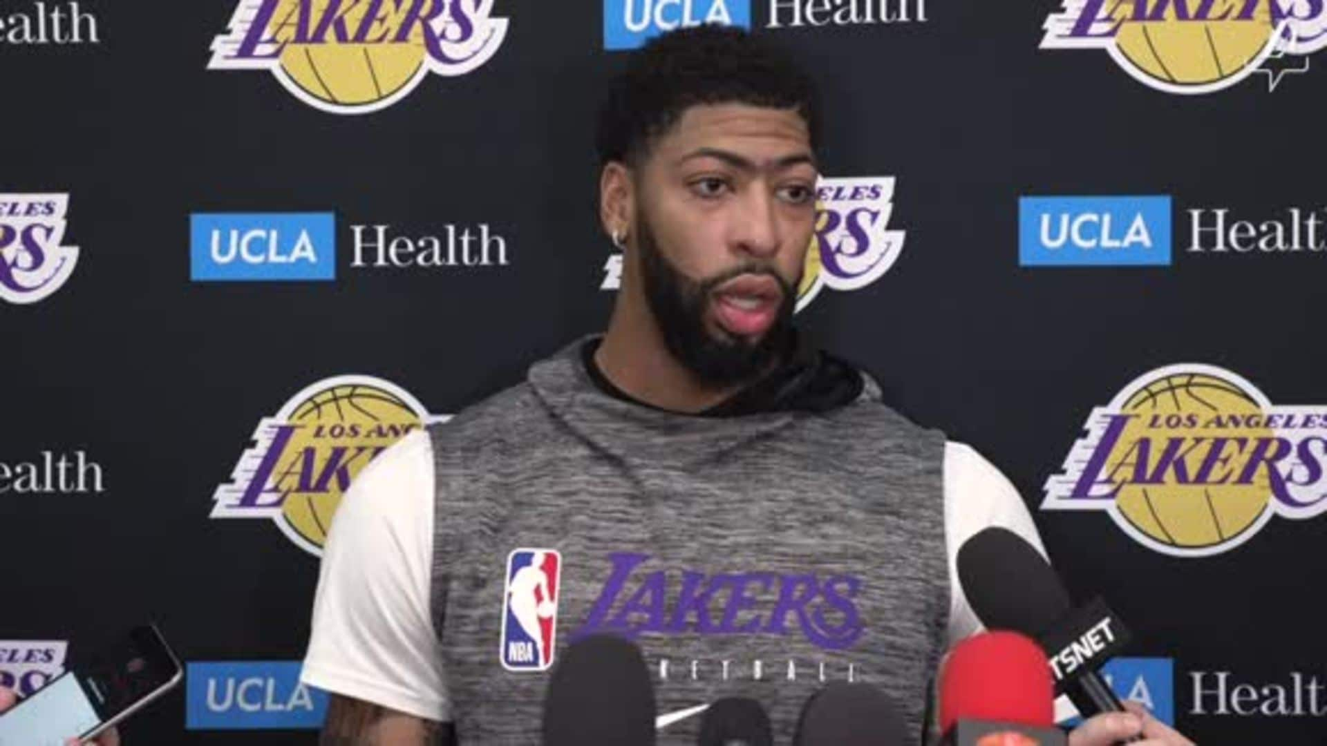 Practice Report: Anthony Davis (3/5/20)