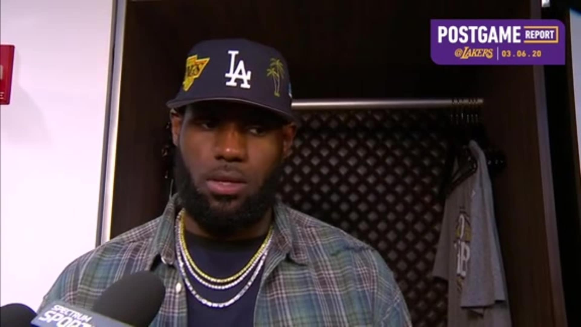 Lakers Postgame: LeBron James (3/6/20)