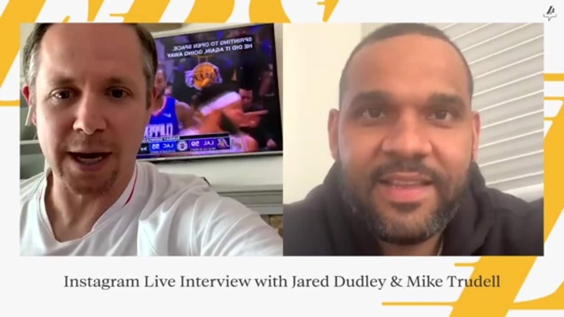 IG Live Interview: Jared Dudley joins Mike Trudell for an exclusive #LakeShow interview
